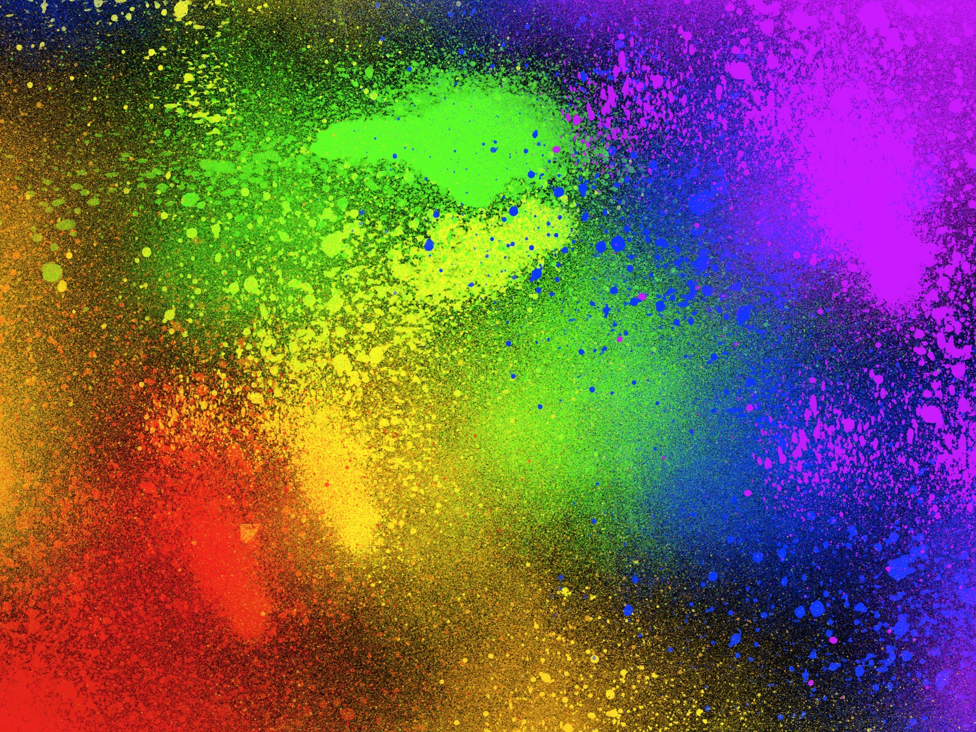 multicolor HD Wallpaper