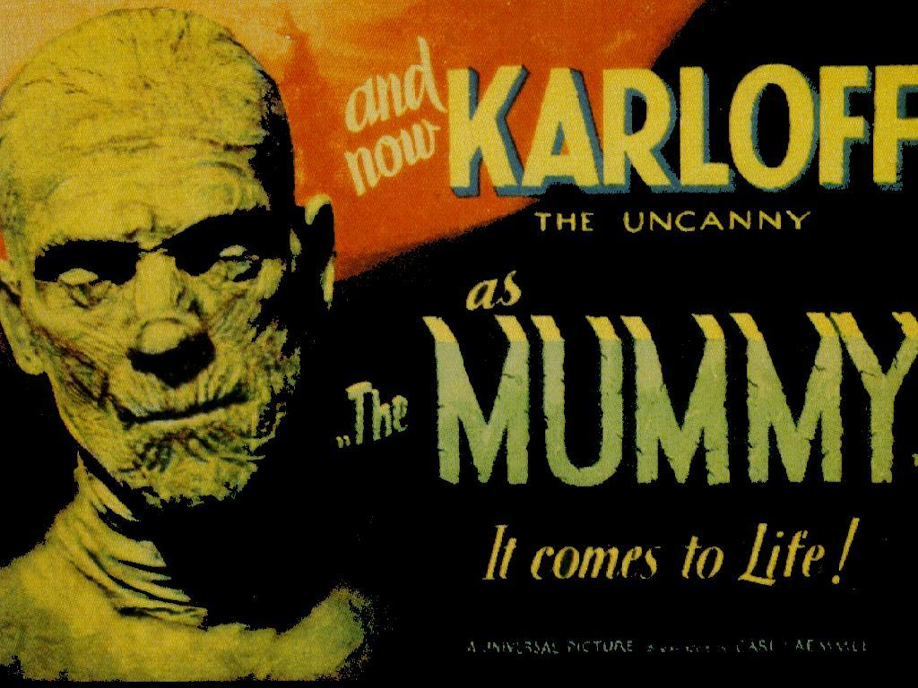 Mummy classic horror Movie HD Wallpaper