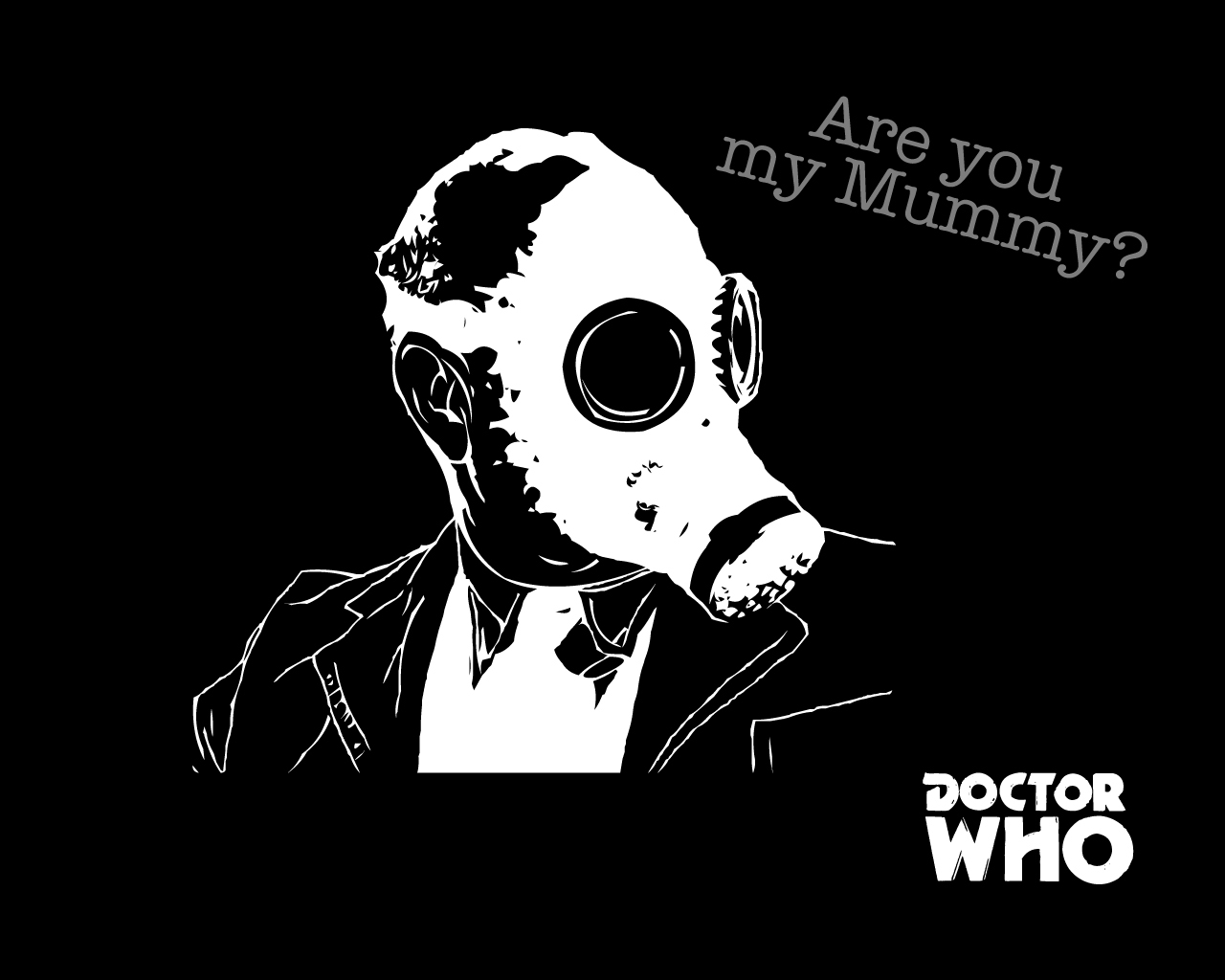 Mummy gas masks Doctor