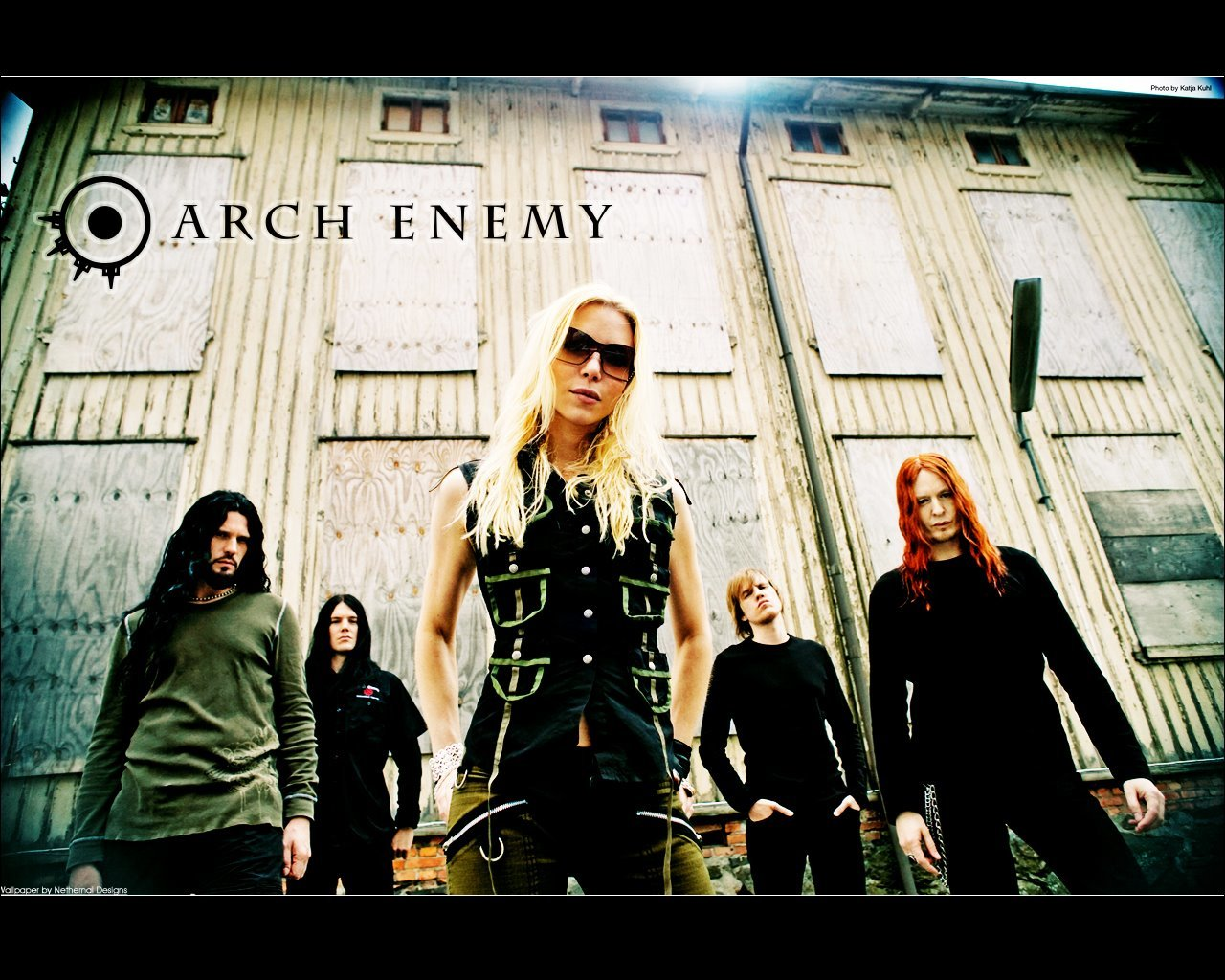 Music arch enemy low-angle
