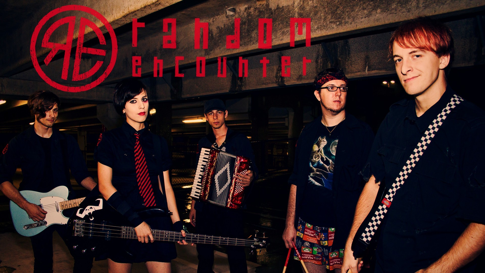Music band Random Encounter HD Wallpaper