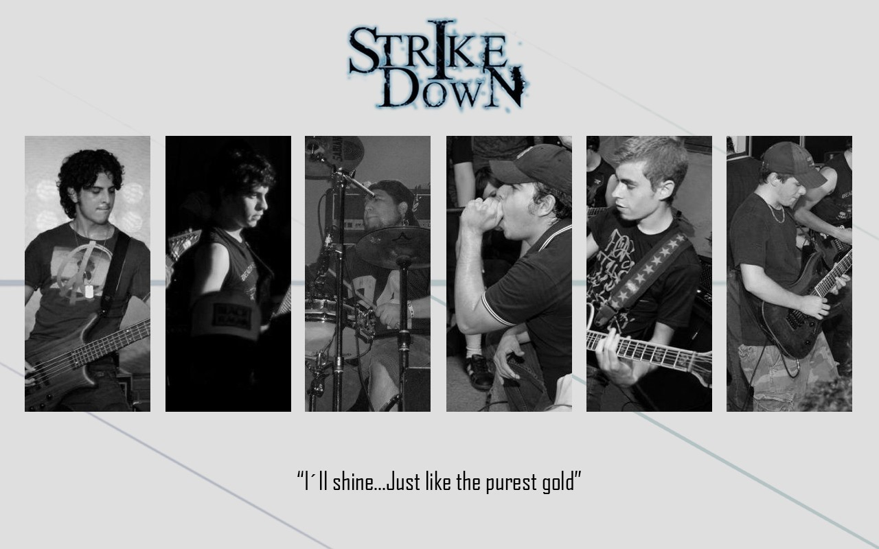 Music band Strike Down HD Wallpaper