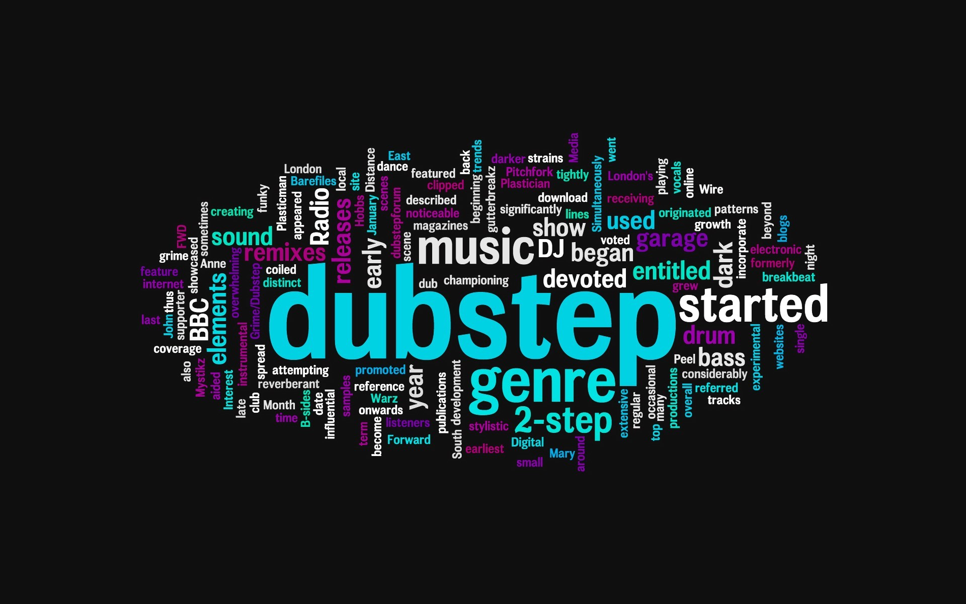 Music bass electric dubstep HD Wallpaper