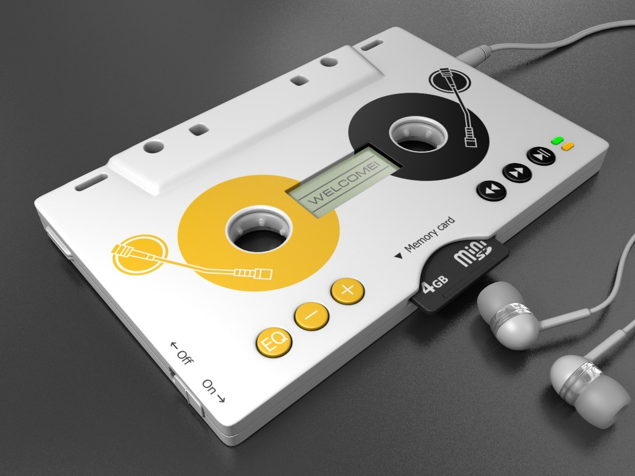 Music cassette blender Mp3 HD Wallpaper
