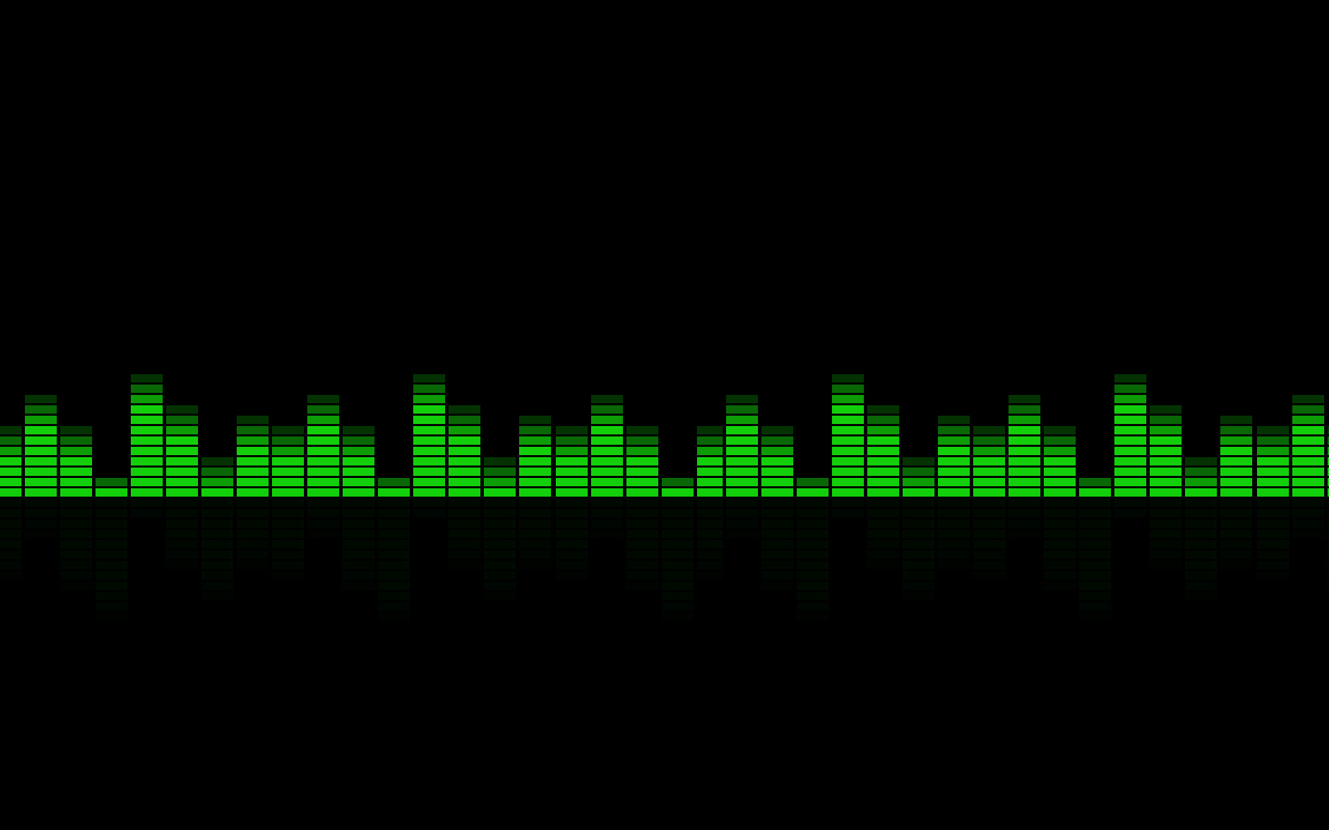 Music equalizer rainbow spectrum HD Wallpaper