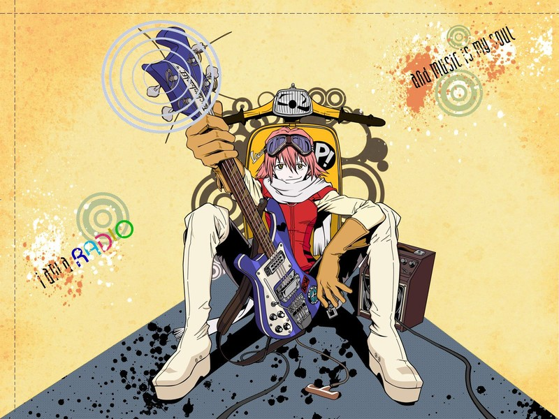 Music FLCL Fooly Cooly HD Wallpaper