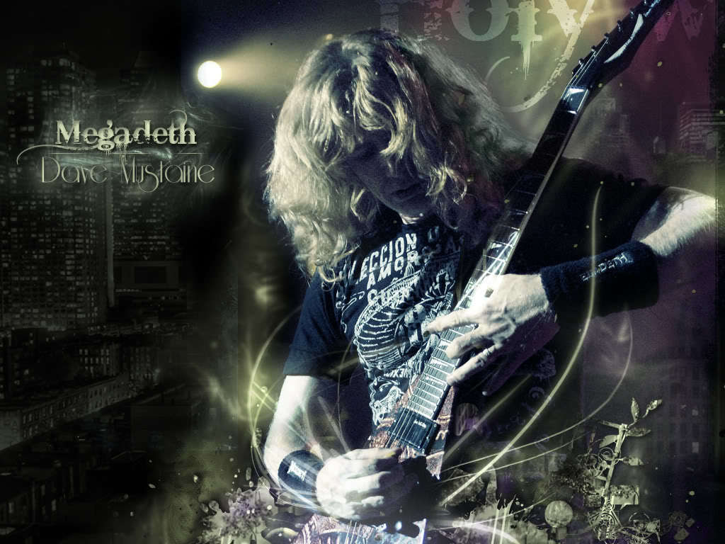 Music megadeth Dave Mustaine HD Wallpaper