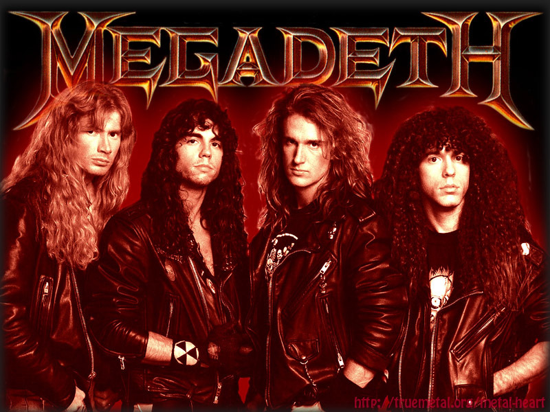 Music megadeth heavy metal HD Wallpaper