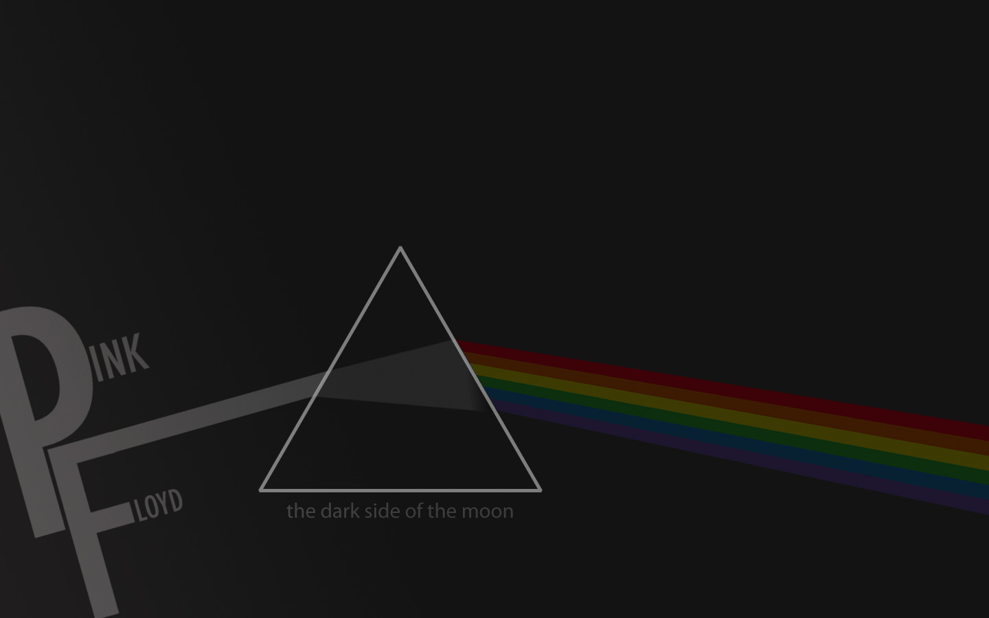 Music pink floyd prism HD Wallpaper