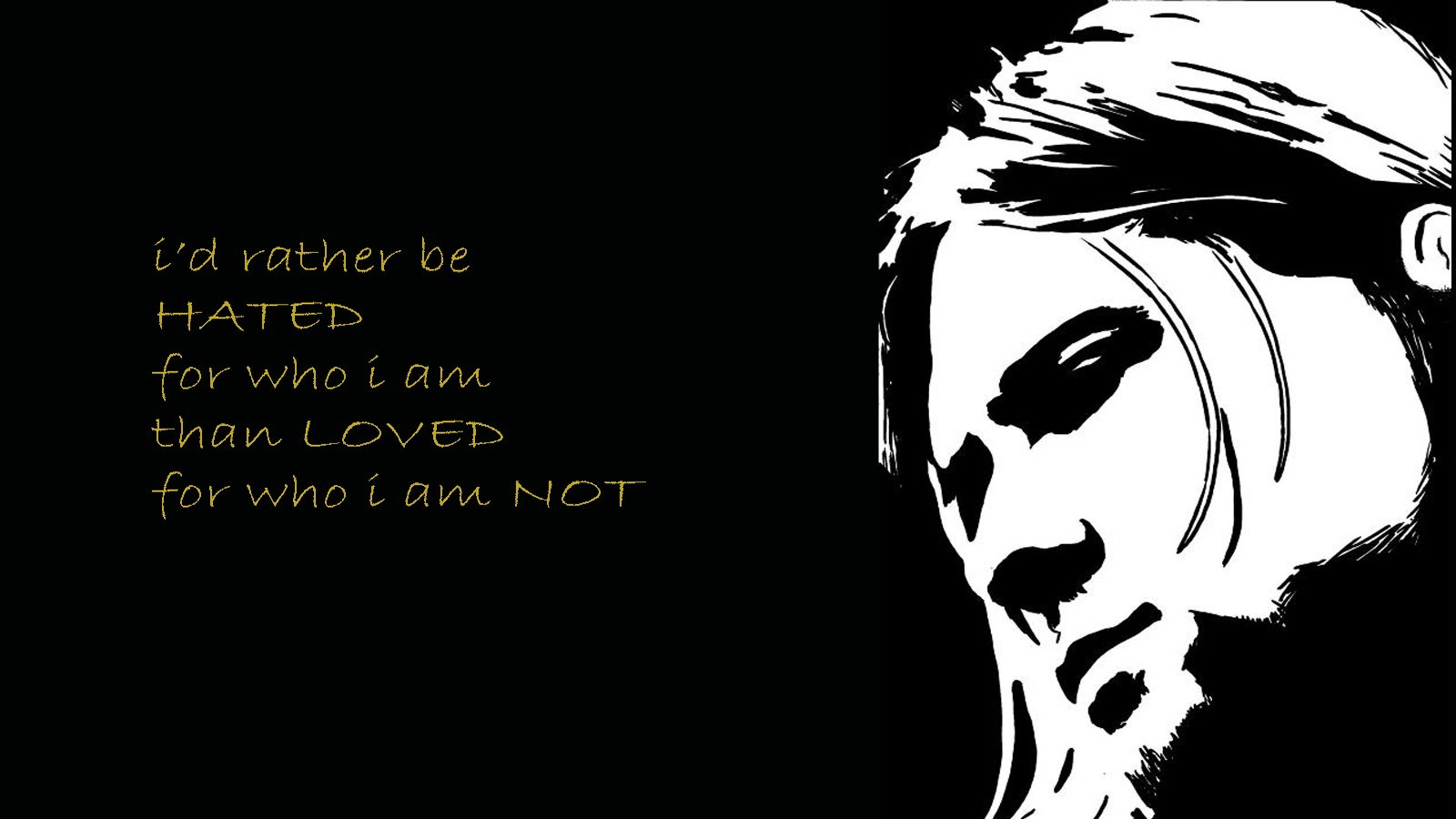 Music Quotes kurt cobain HD Wallpaper