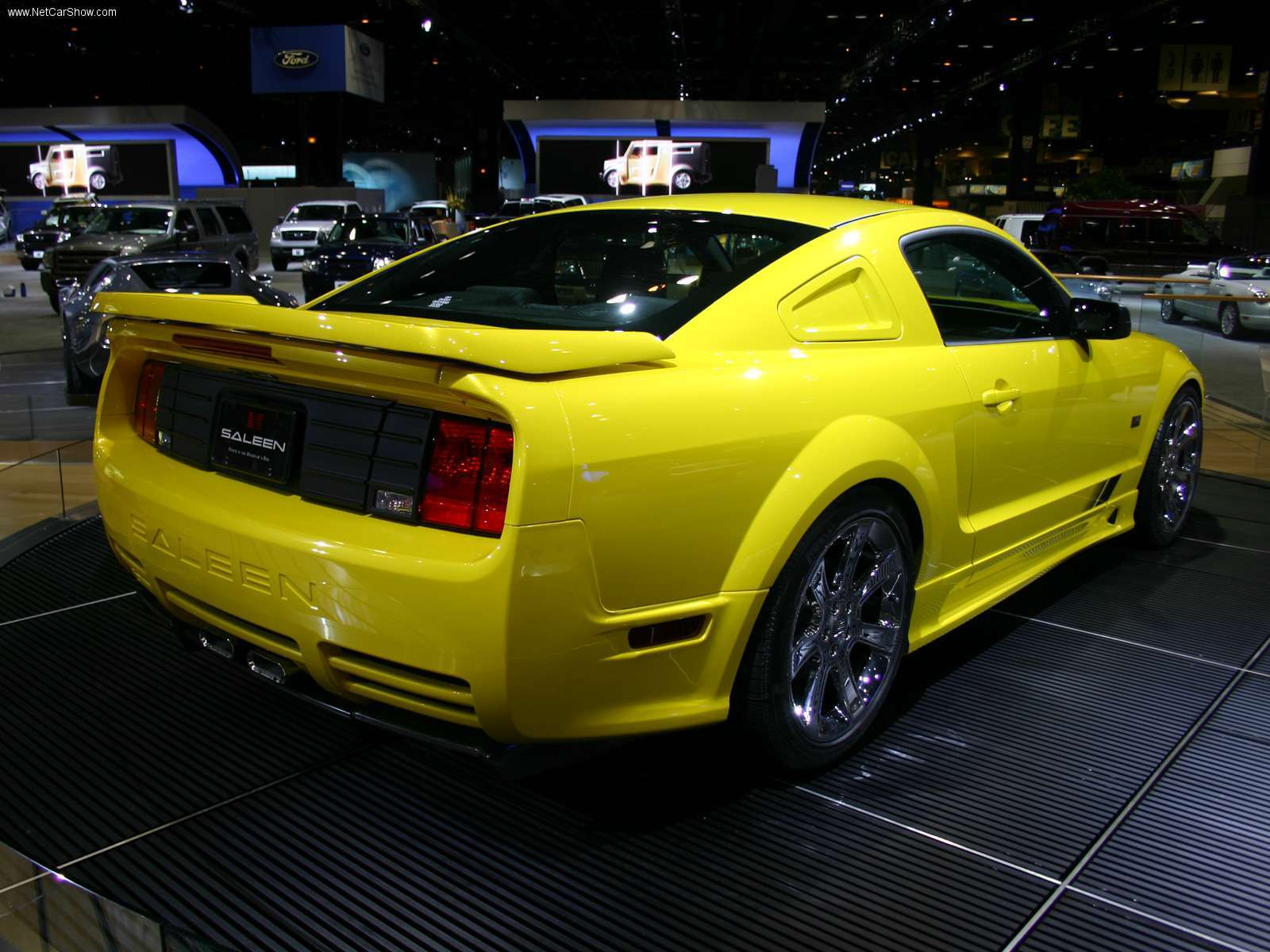 mustang rare Car yellow HD Wallpaper