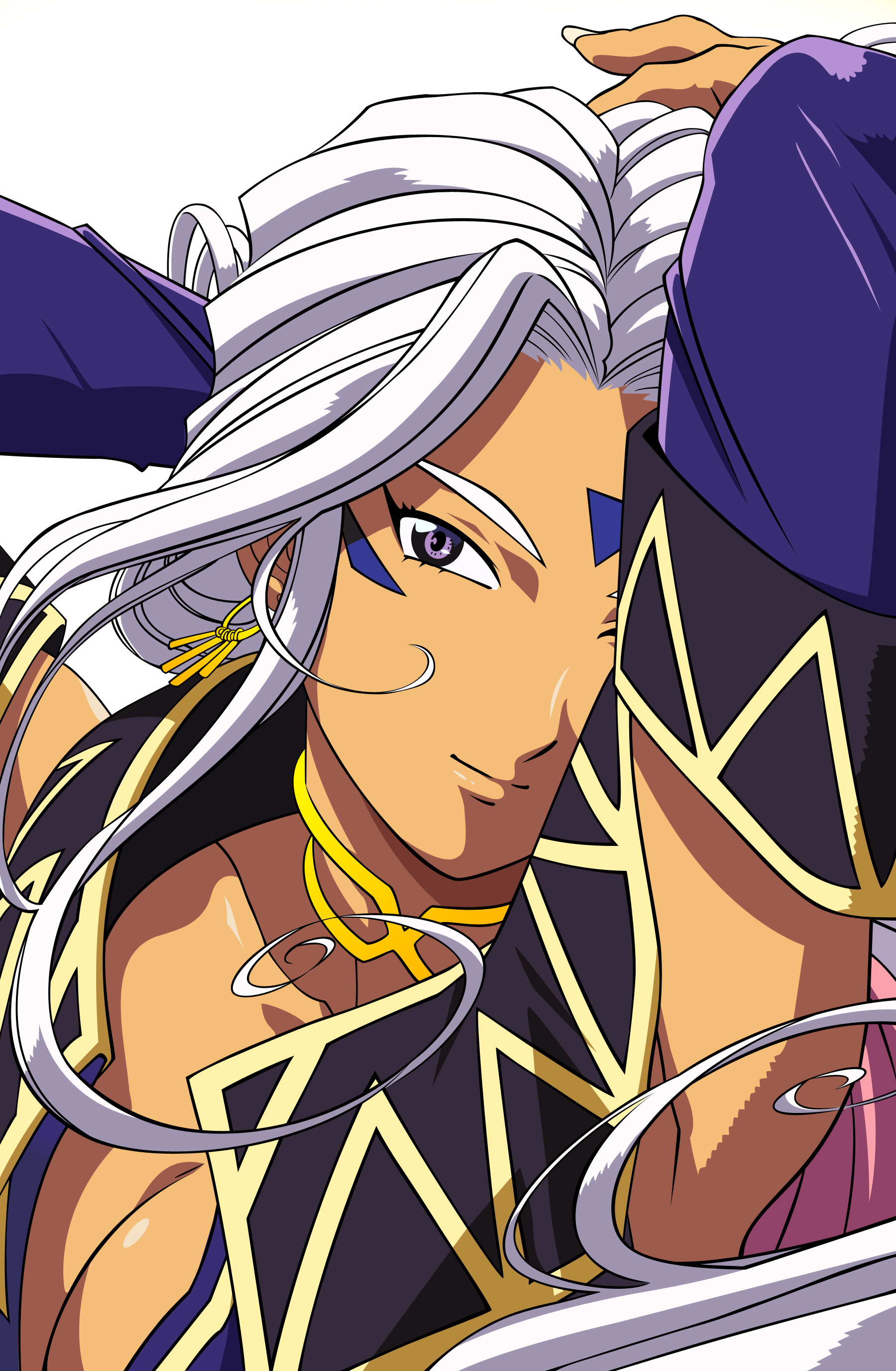 My goddess Urd cartoon HD Wallpaper
