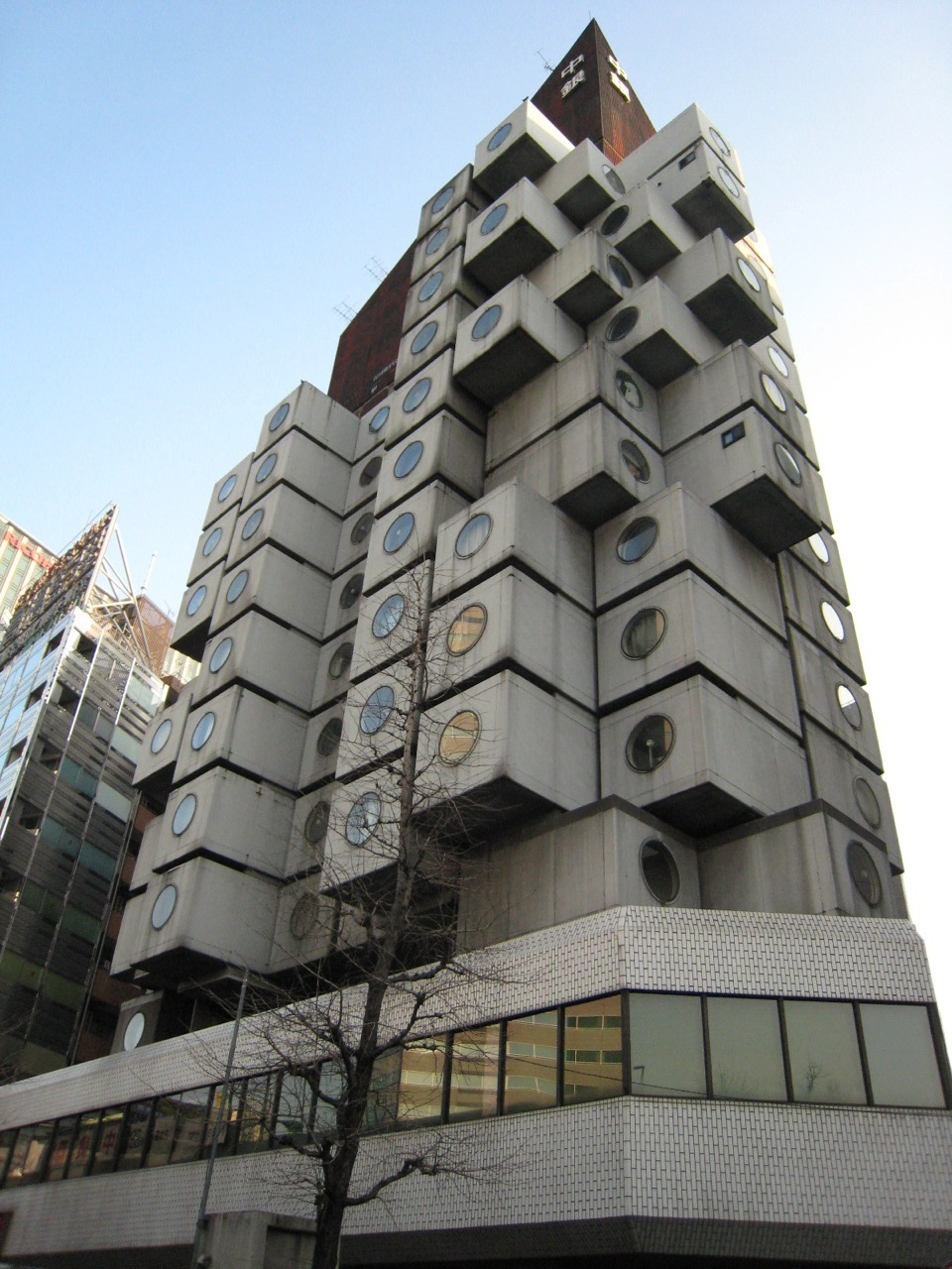 nakagin capsule tower 2007 HD Wallpaper