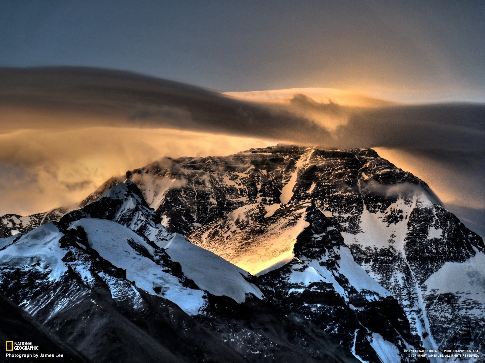 national geographic Mount Everest HD Wallpaper