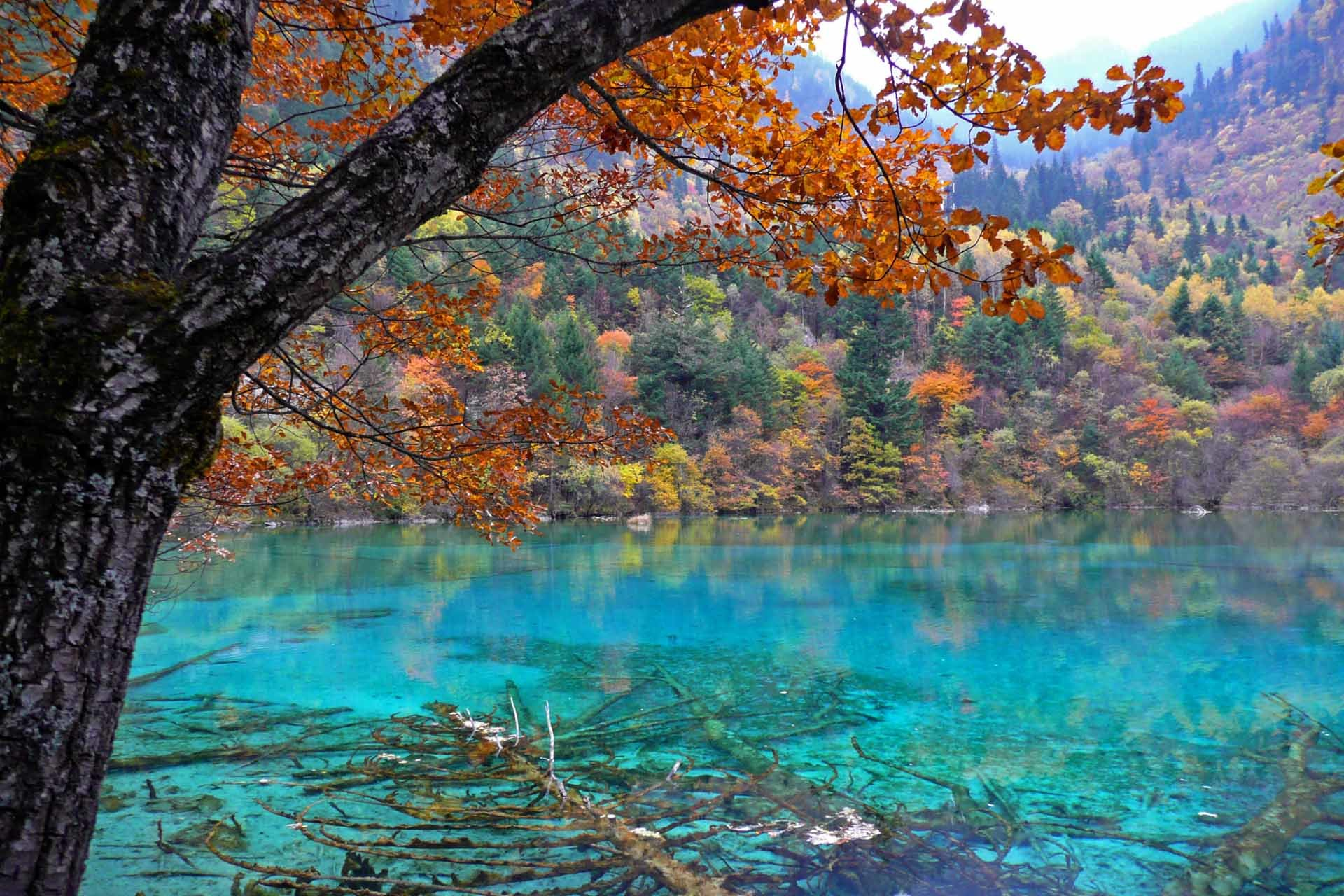 nature China lakes national HD Wallpaper