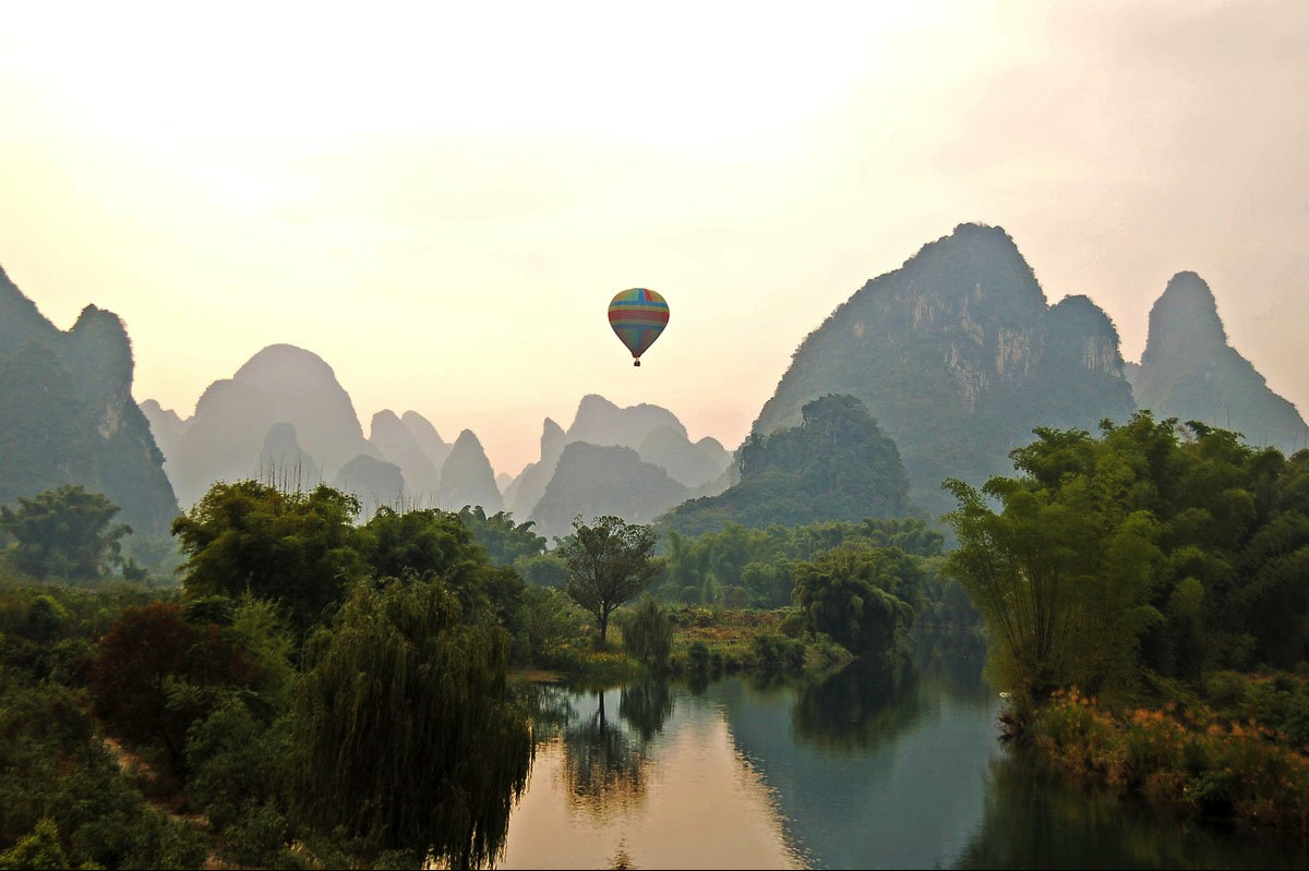 nature China yangshuo World HD Wallpaper