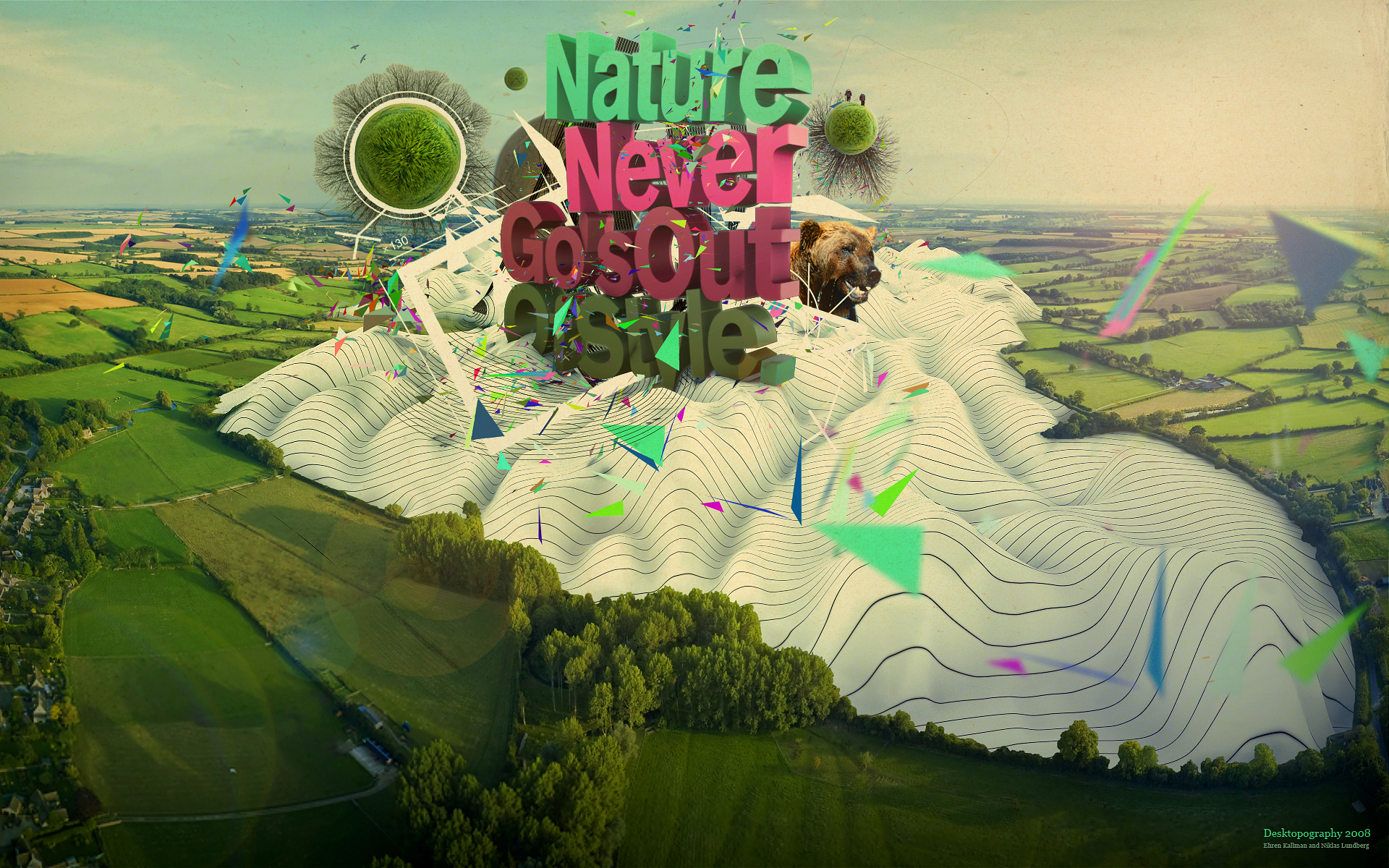 nature never go out HD Wallpaper