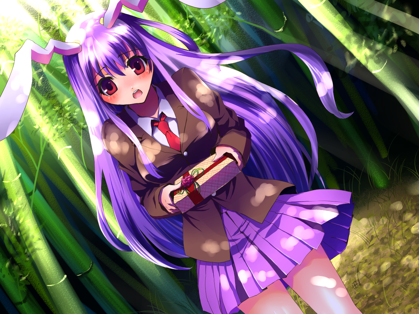 nature touhou forests school HD Wallpaper