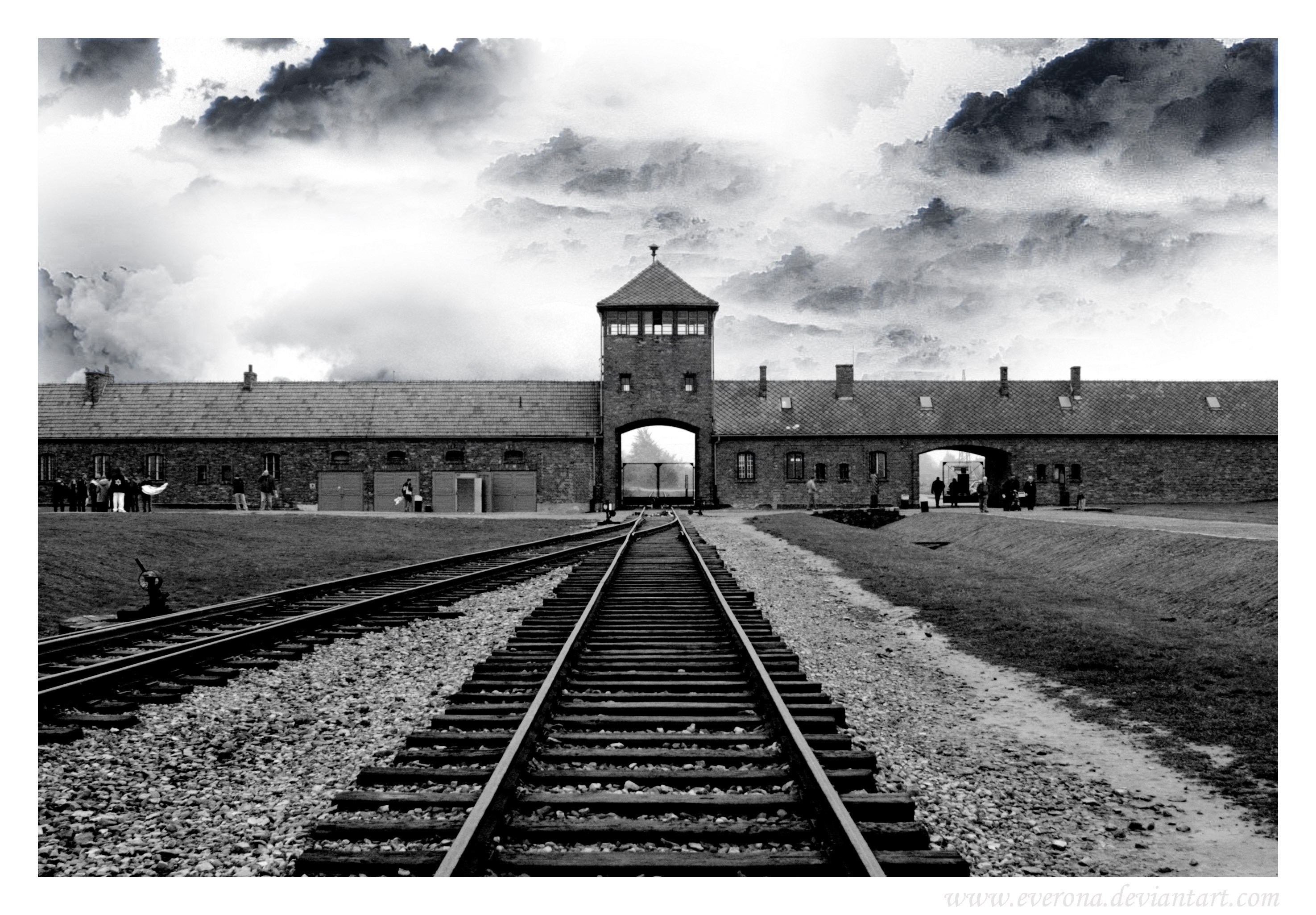 Nazi historic Auschwitz death HD Wallpaper