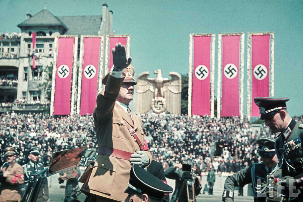 Nazi rally Adolf hitler HD Wallpaper