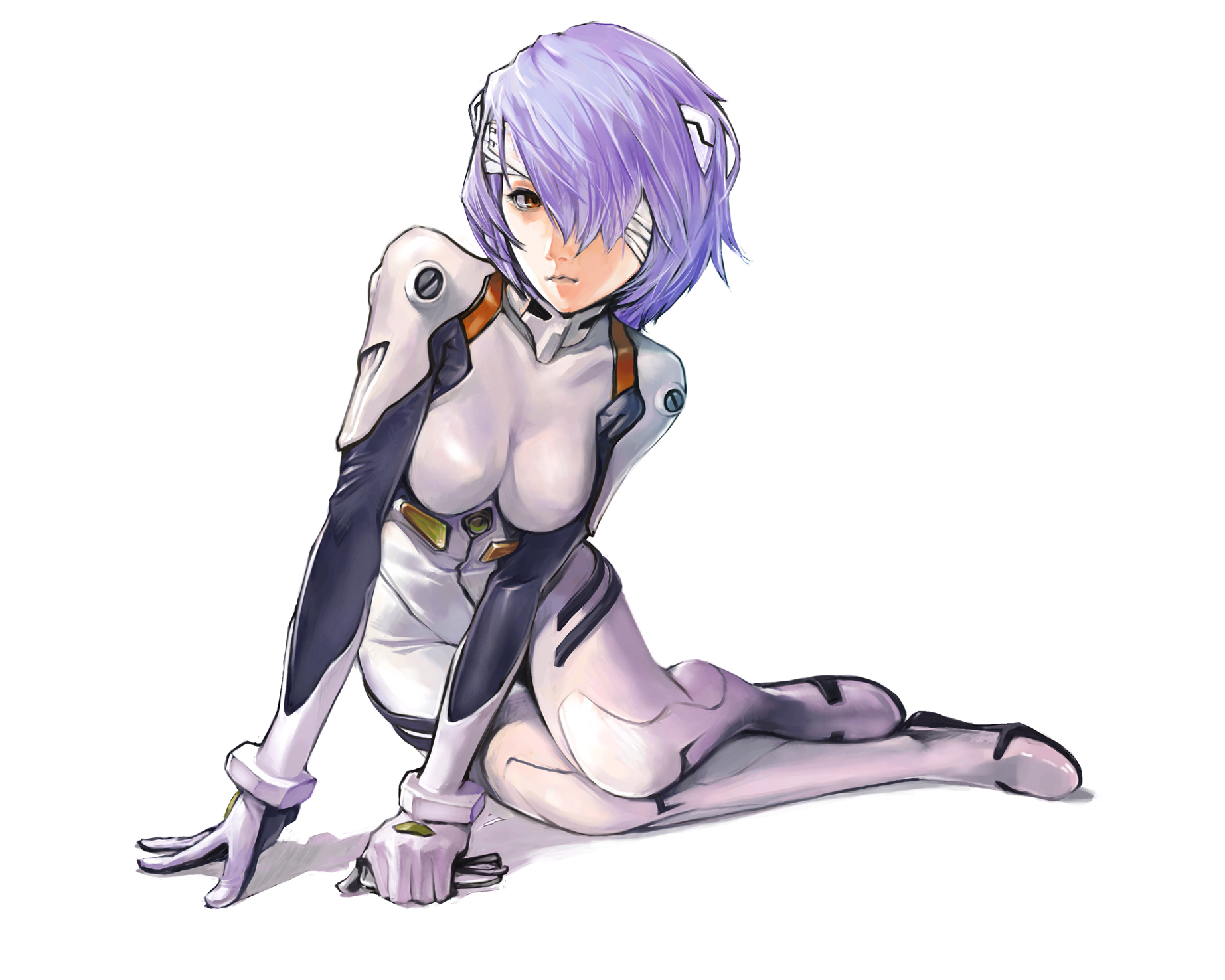 neon genesis evangelion hair HD Wallpaper