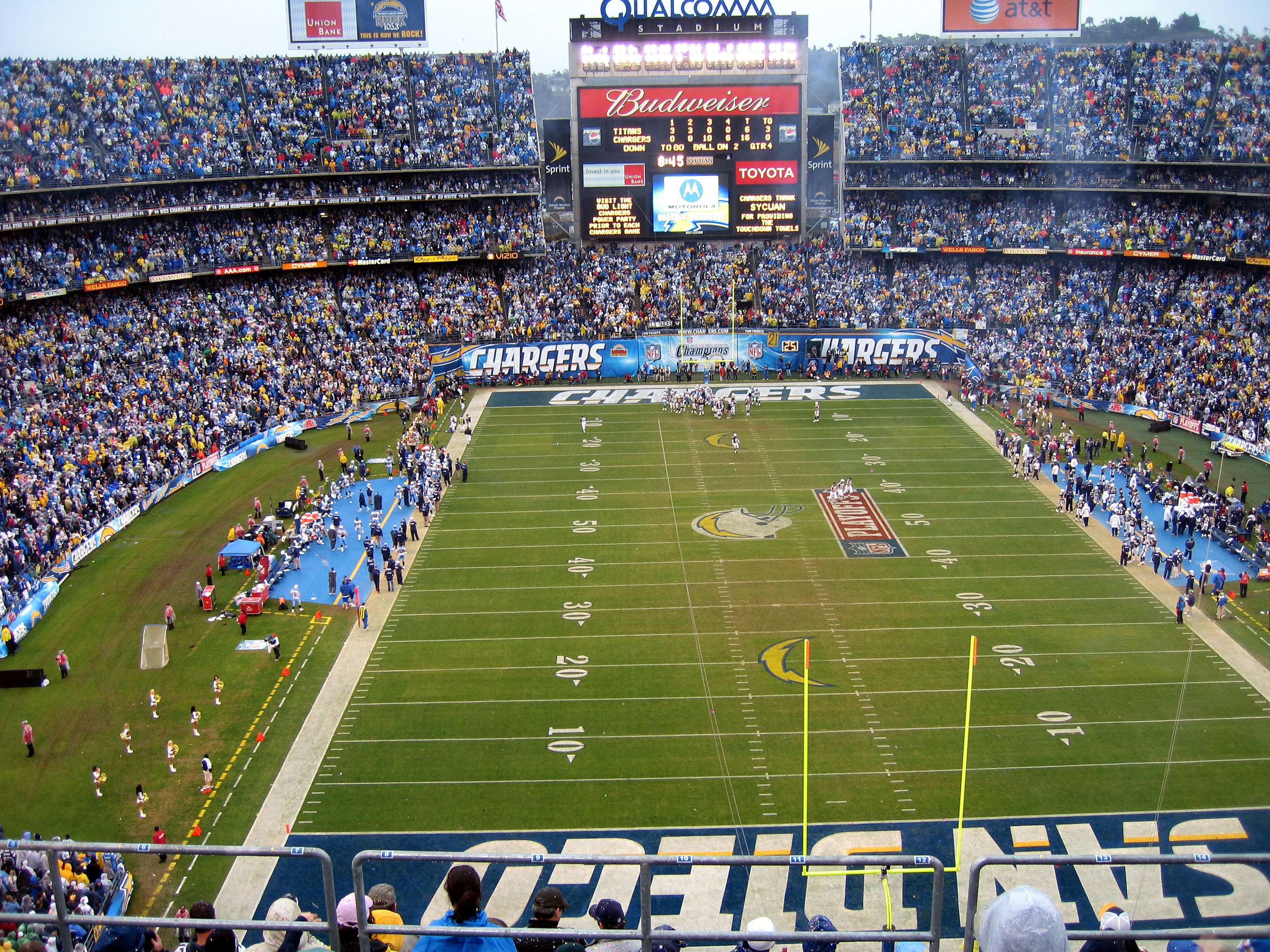 nfl stadium san diego HD Wallpaper