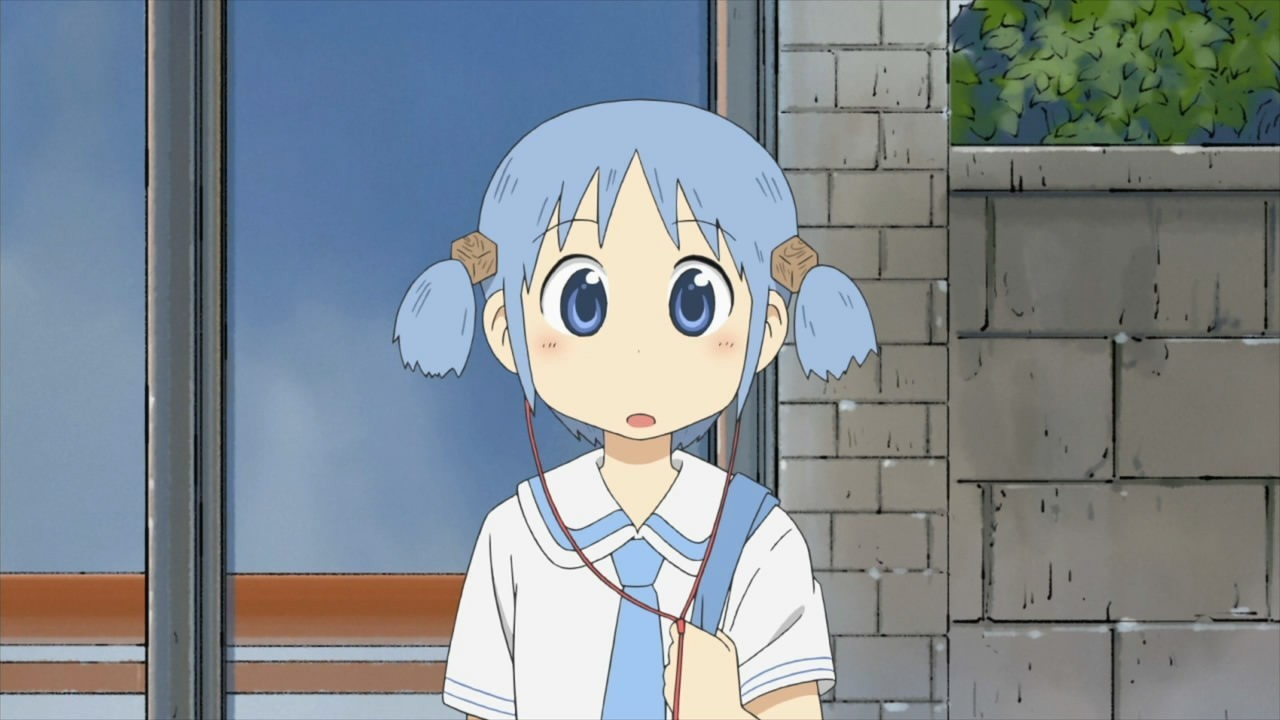 Nichijou Naganohara Mio anime HD Wallpaper