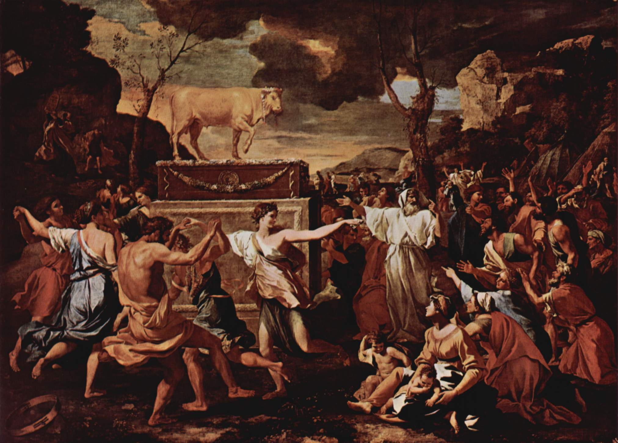 nicolas poussin Bible ep HD Wallpaper