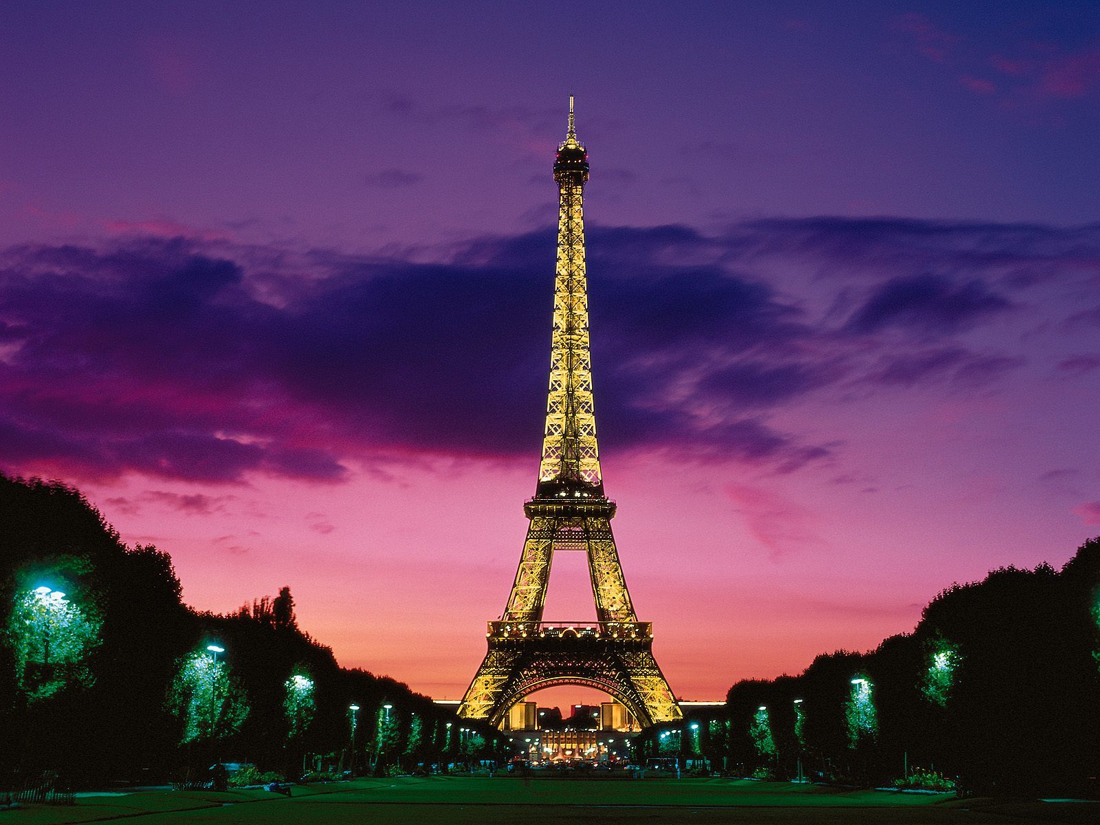 night France tower Eiffel HD Wallpaper