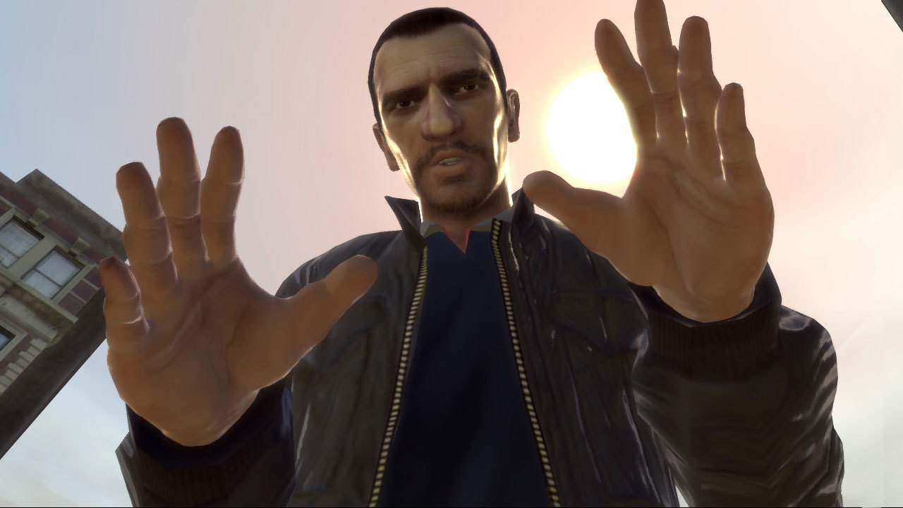niko bellic grand theft HD Wallpaper