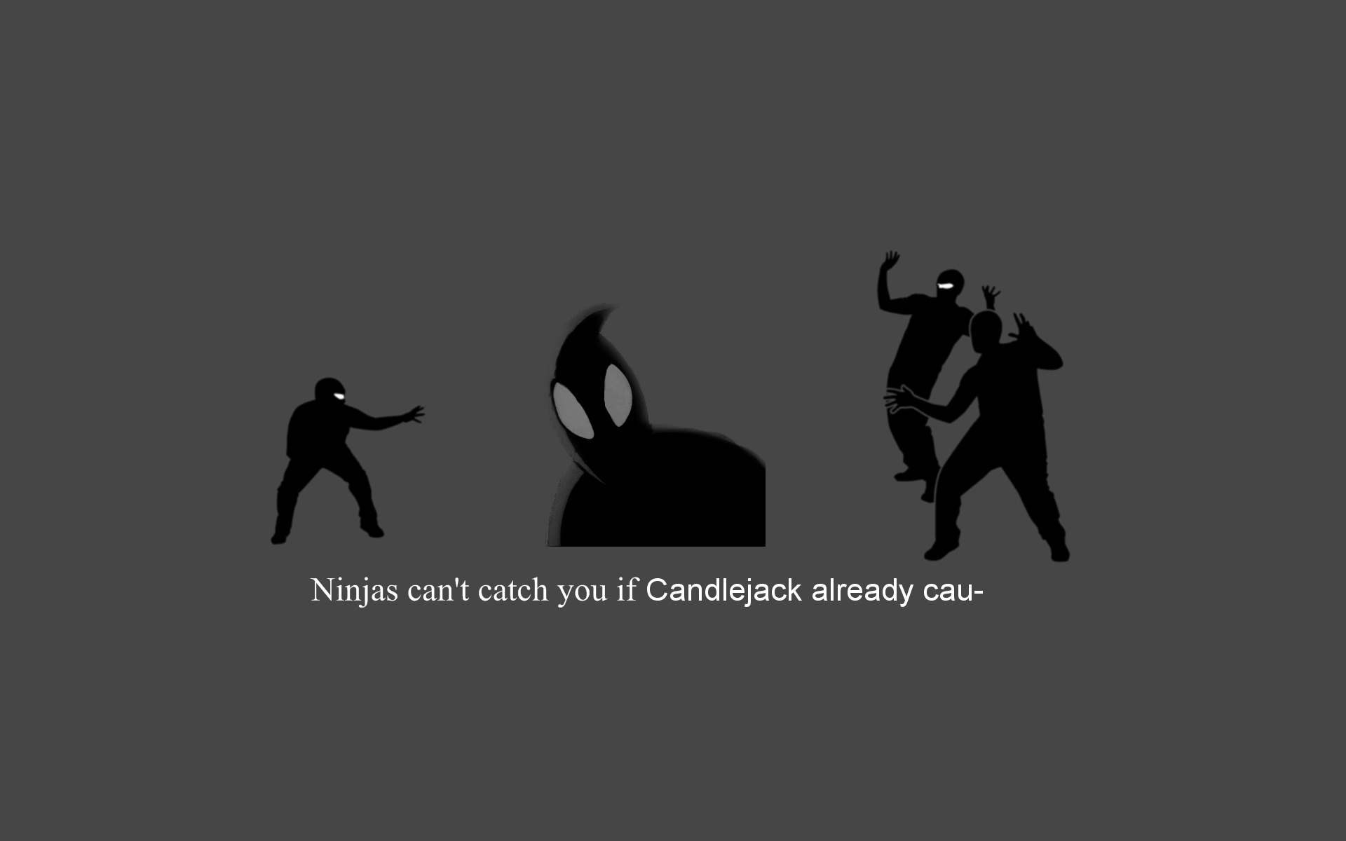 ninjas cant catch You HD Wallpaper