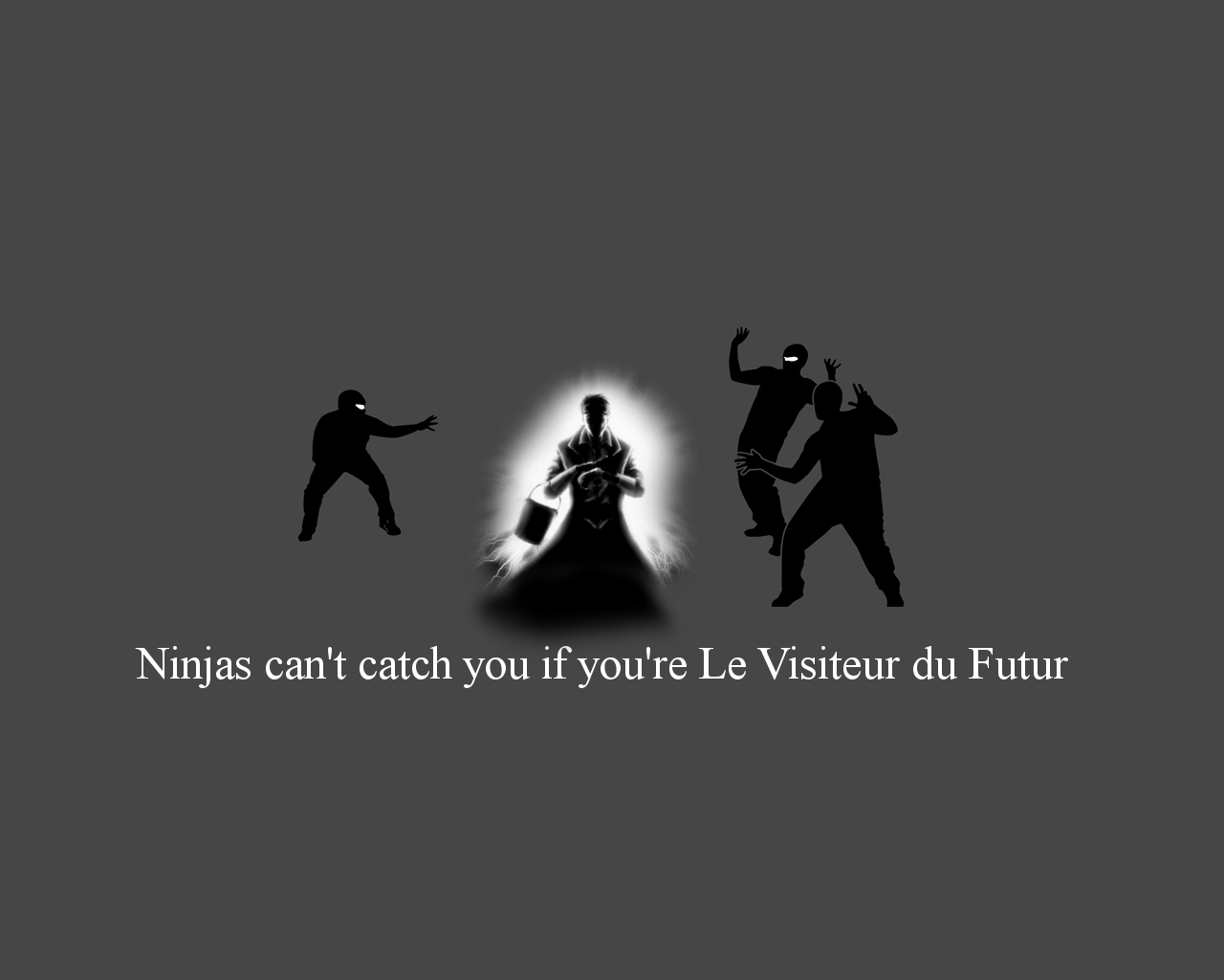 ninjas Future cant catch HD Wallpaper