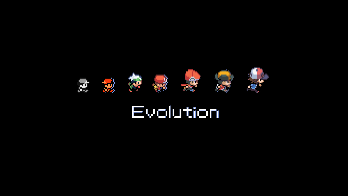 nintendo Pokemon Evolution ash HD Wallpaper
