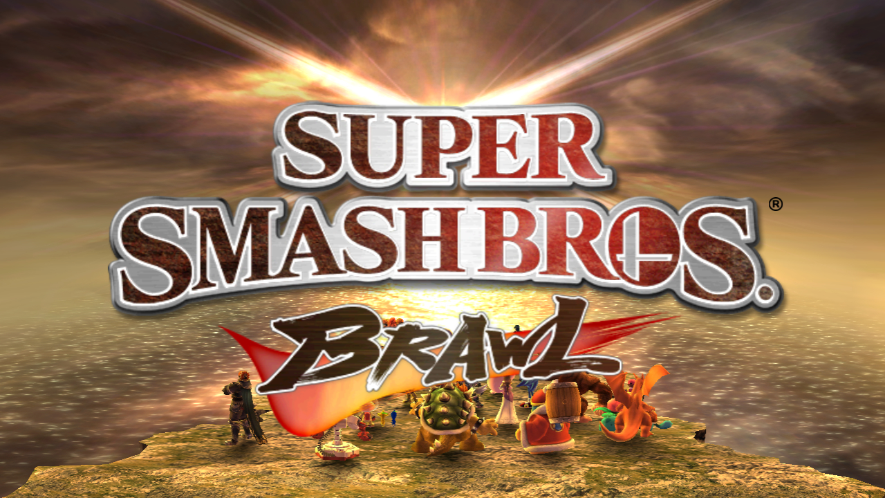 nintendo super smash bros HD Wallpaper