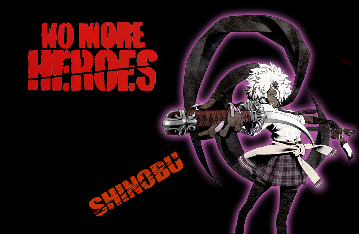 No More heroes shinobu HD Wallpaper