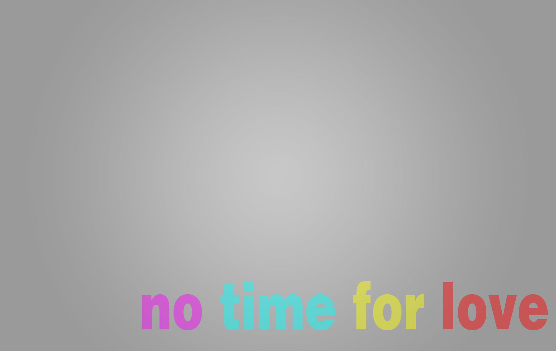 No time wal high HD Wallpaper