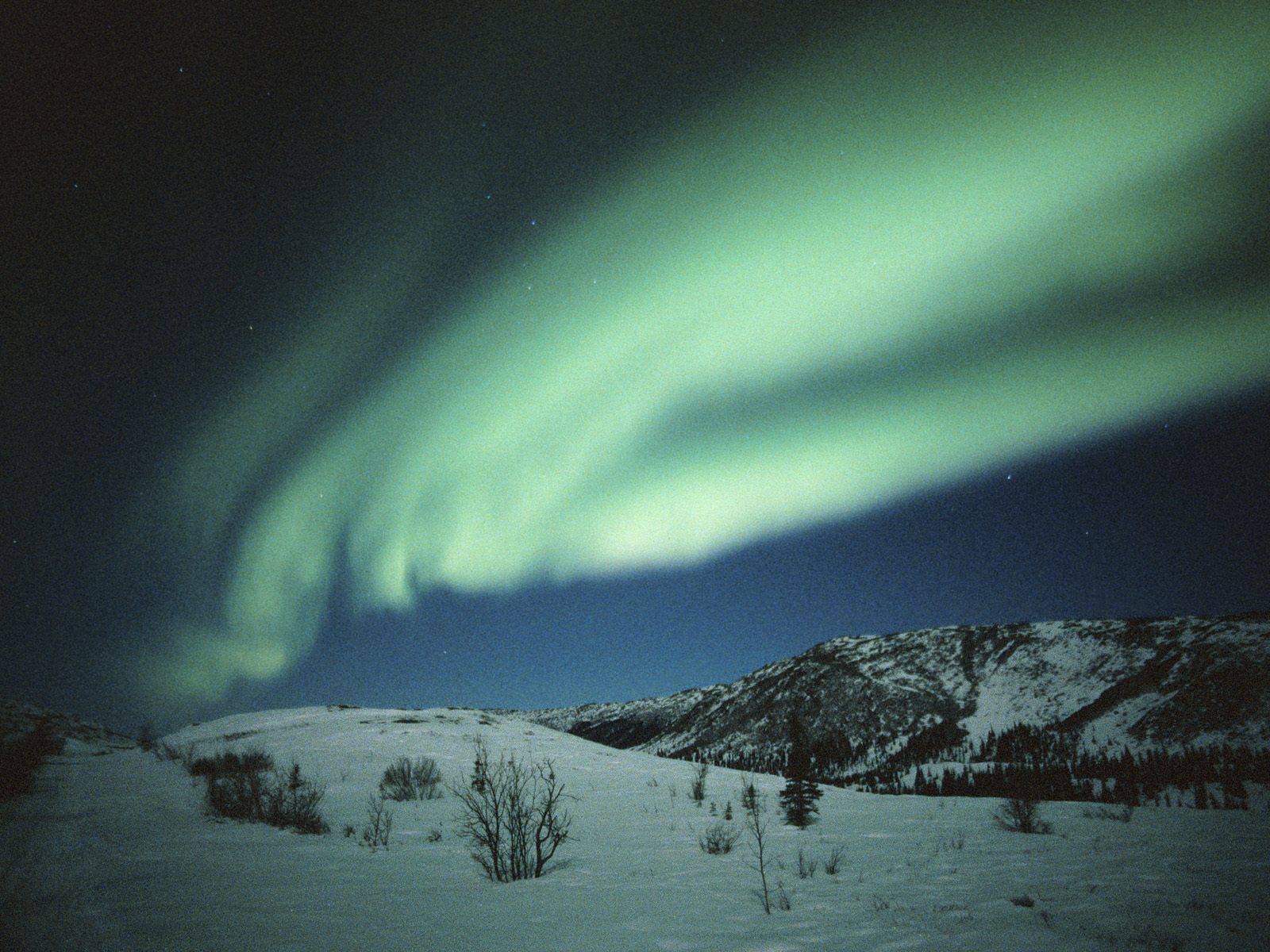 Northern lights Alaska how HD Wallpaper