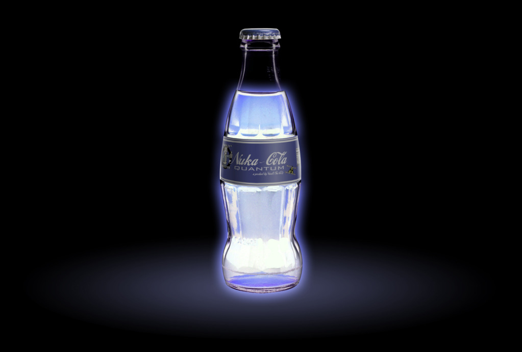 nuka cola quantum fallout HD Wallpaper