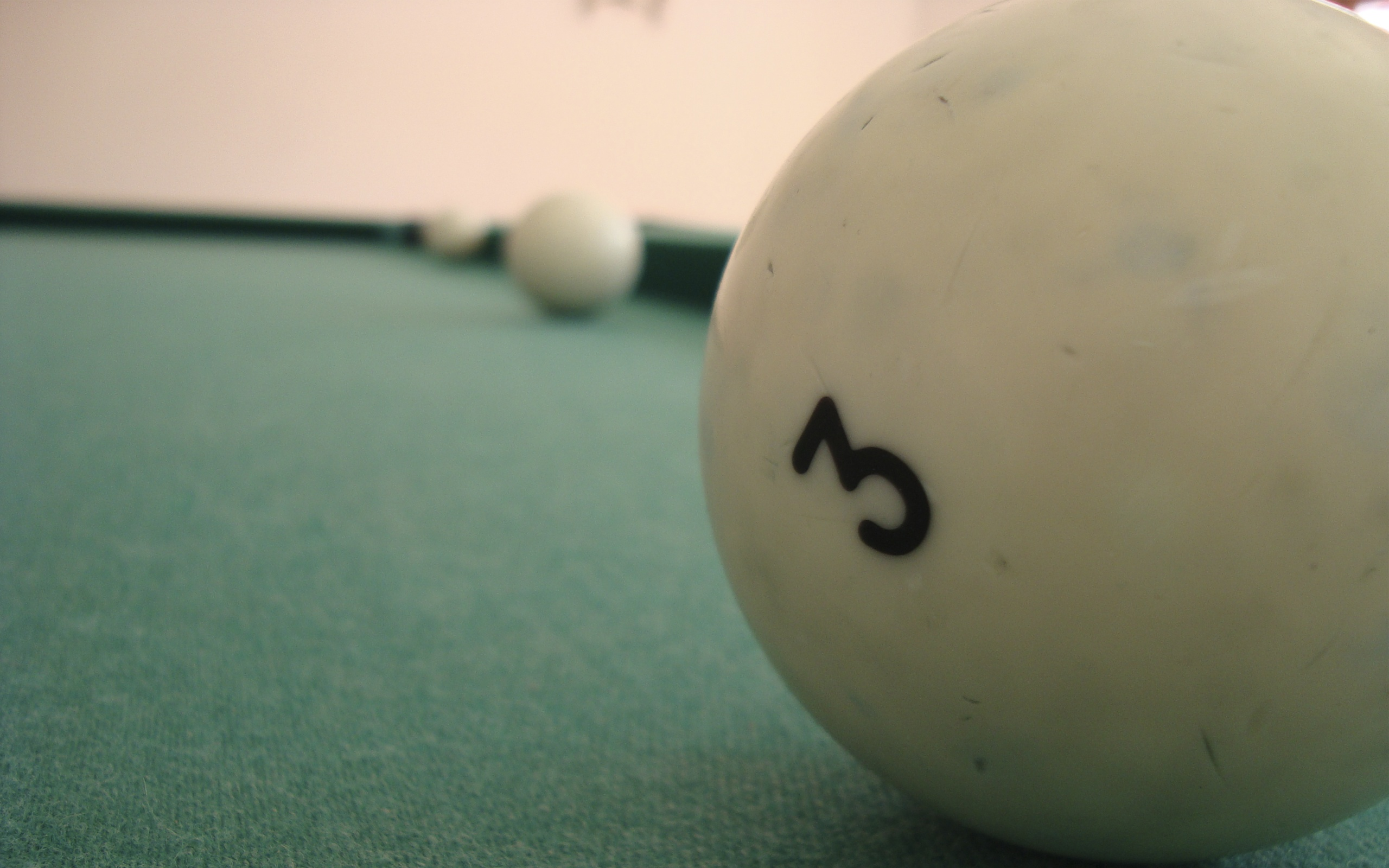 numbers balls billiards tables HD Wallpaper