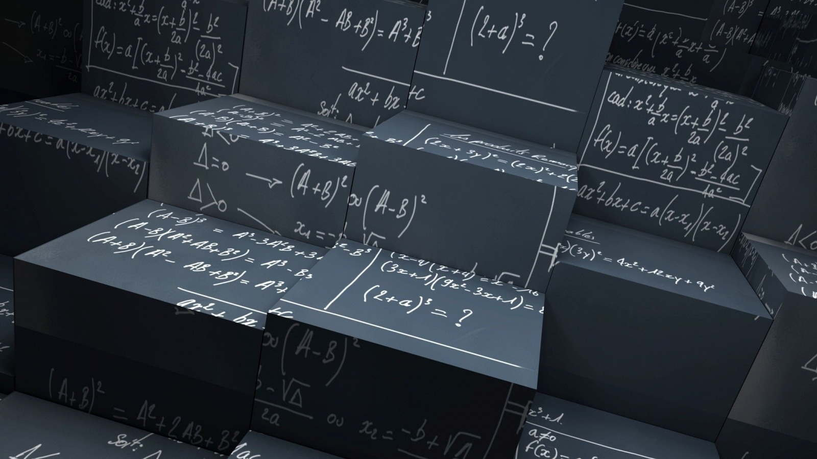 numbers mathematics formulas HD Wallpaper