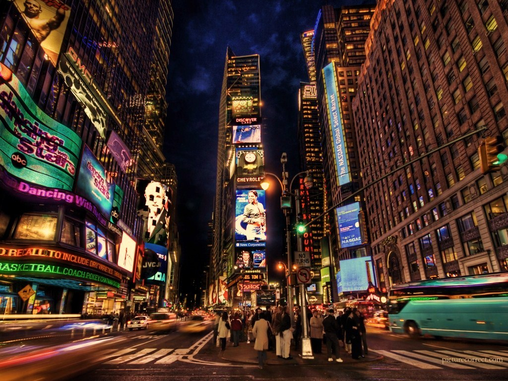 nyc timessquare City HD Wallpaper
