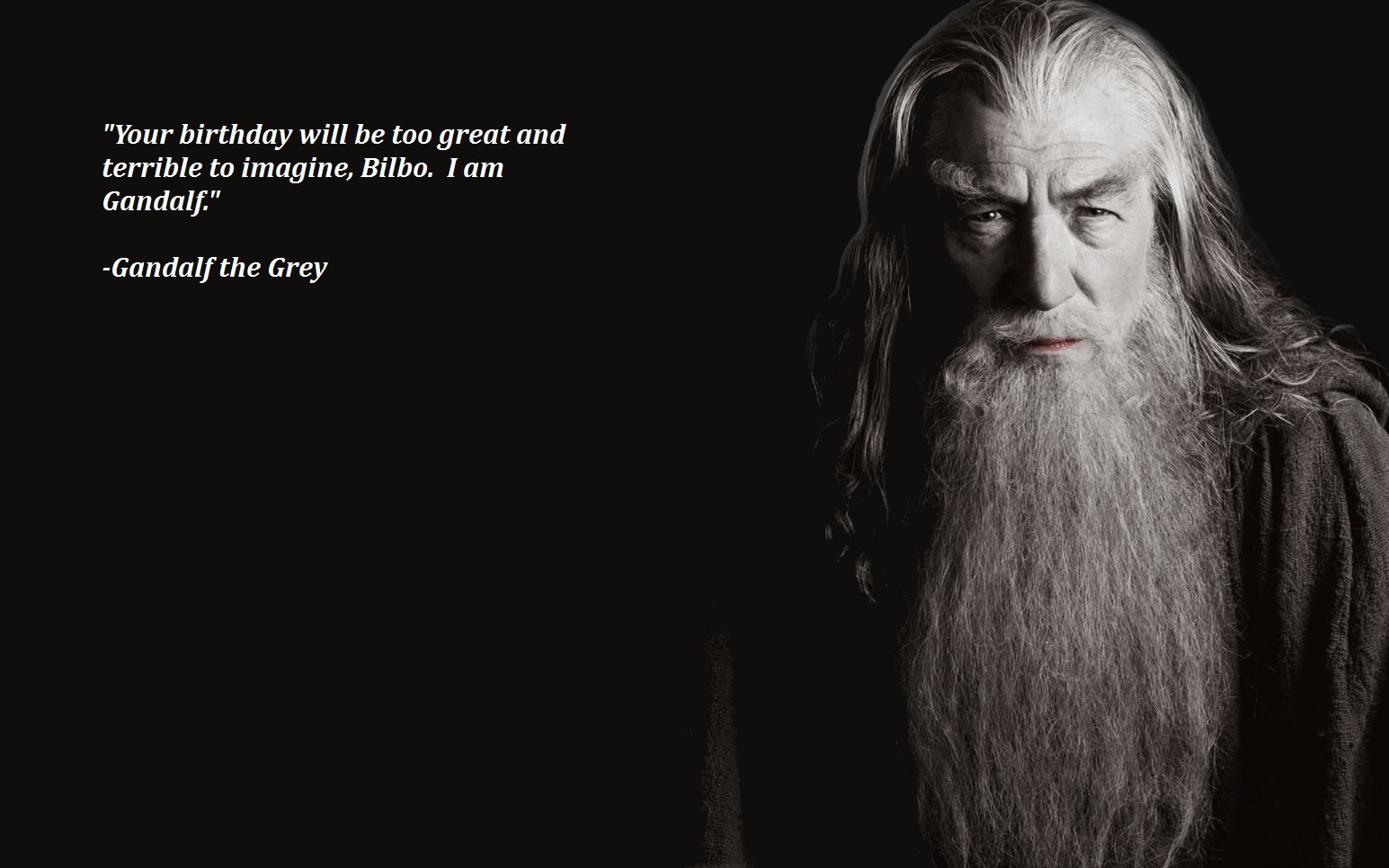 of rings ian mckellen HD Wallpaper