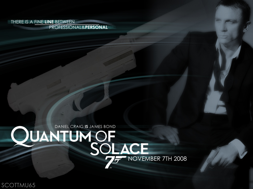 of solace James bond