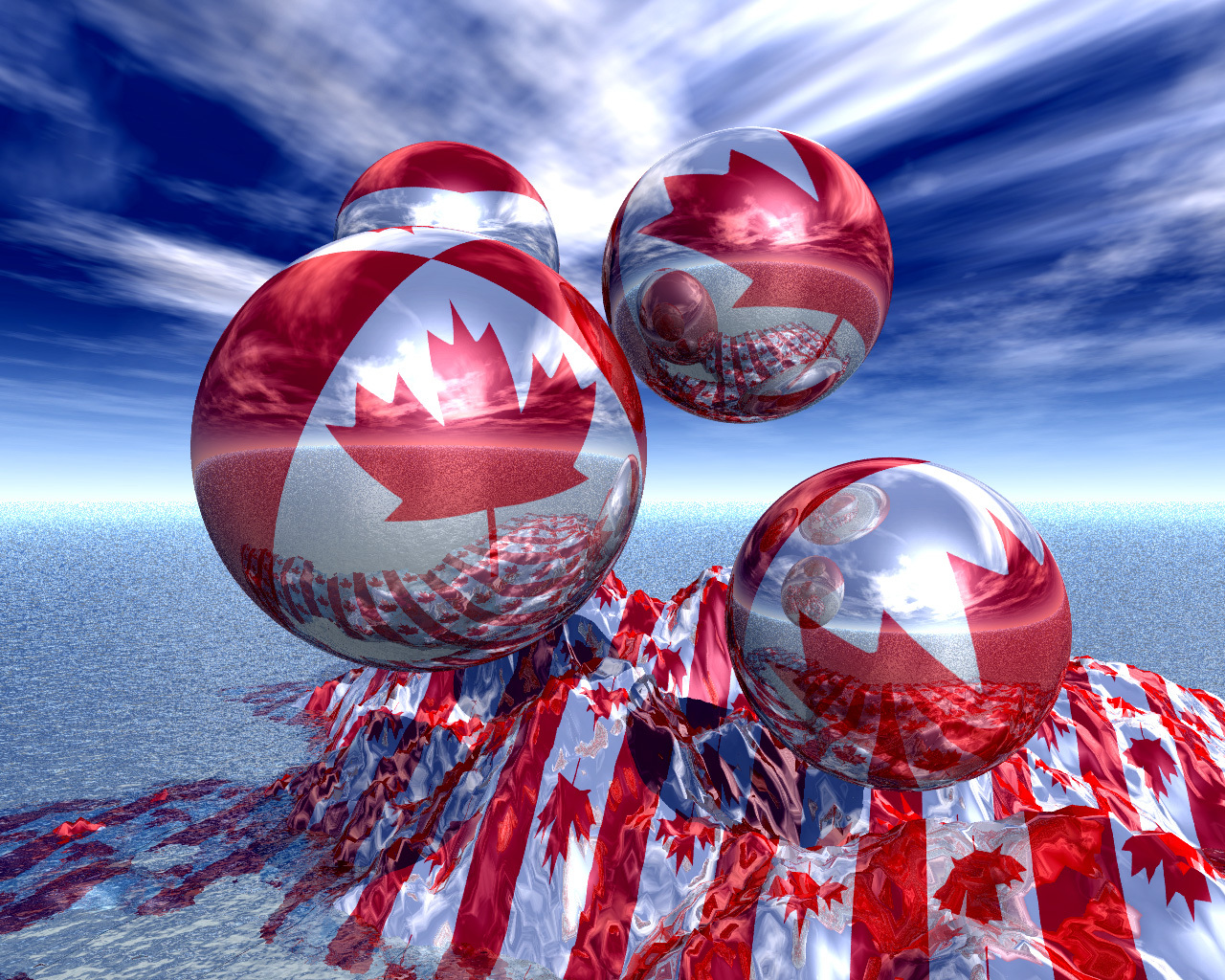 Oh Canada World HD Wallpaper