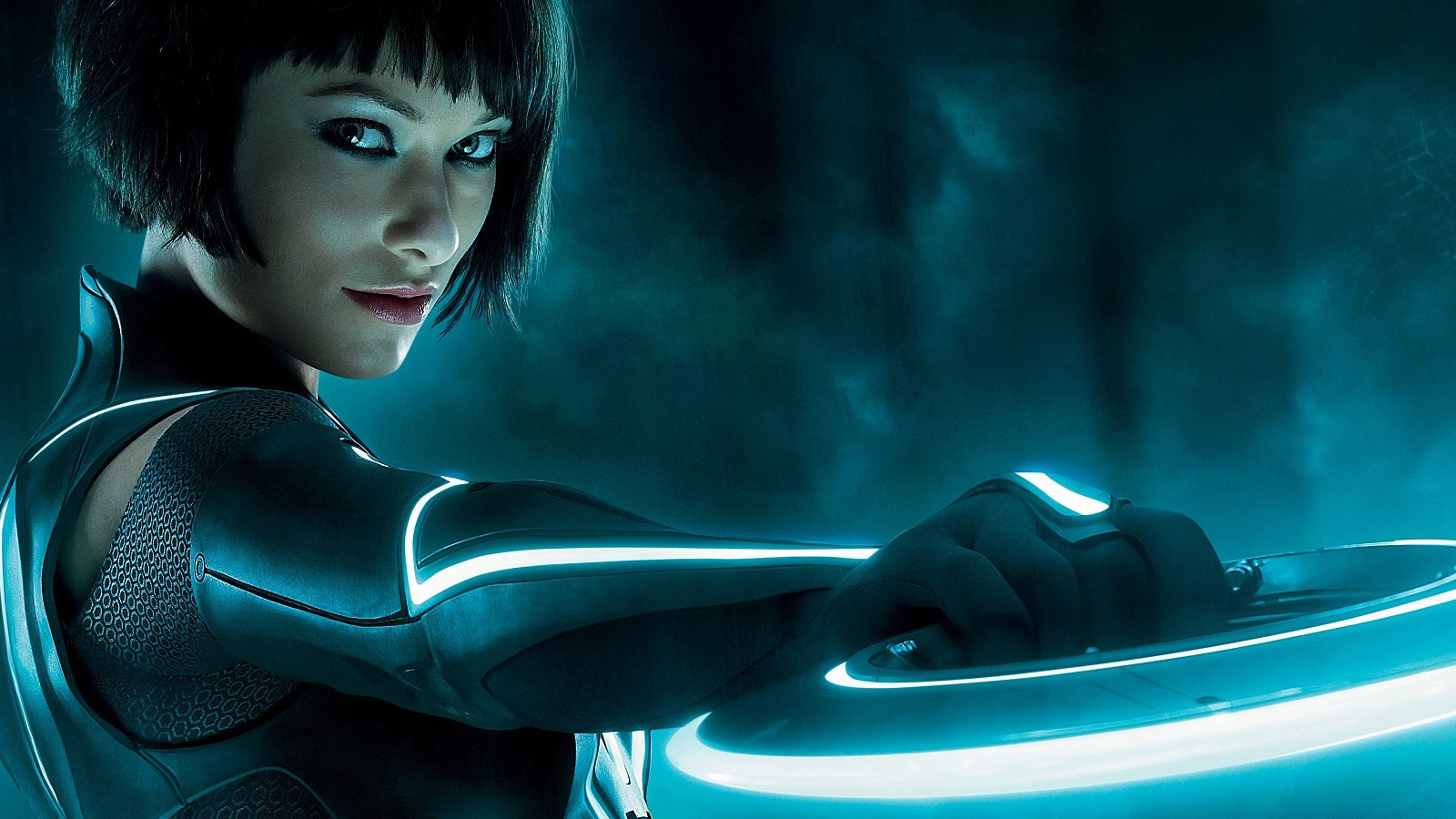 olivia Wilde Tron Movie HD Wallpaper