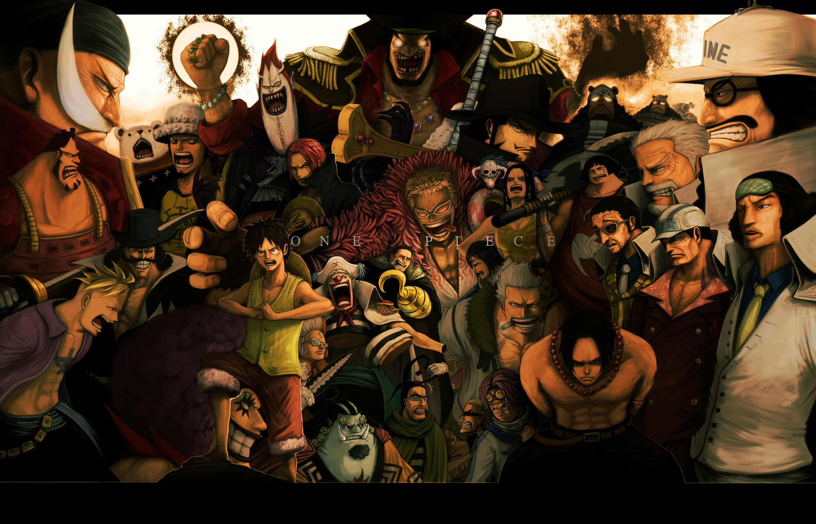 One Piece (anime) HD Wallpaper