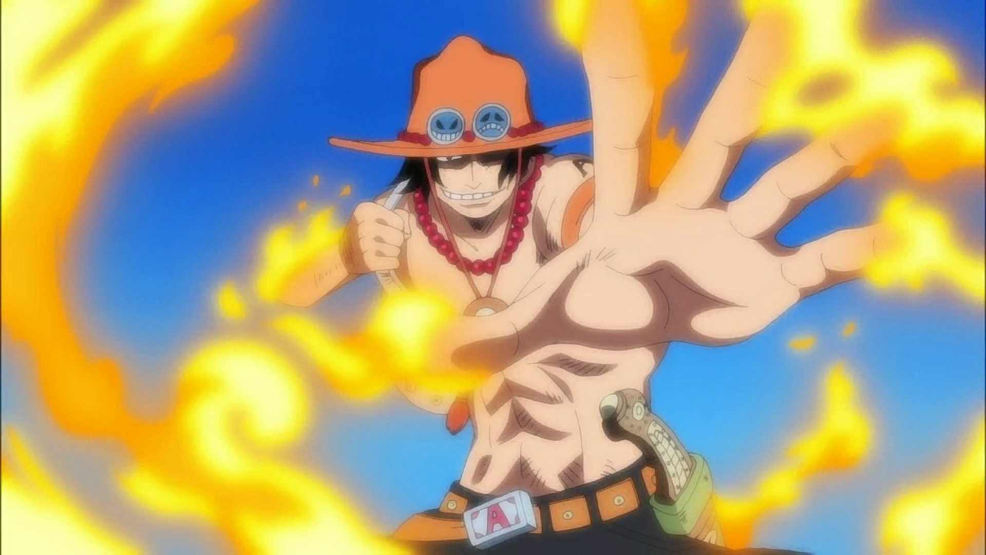 One Piece (anime) portgas HD Wallpaper