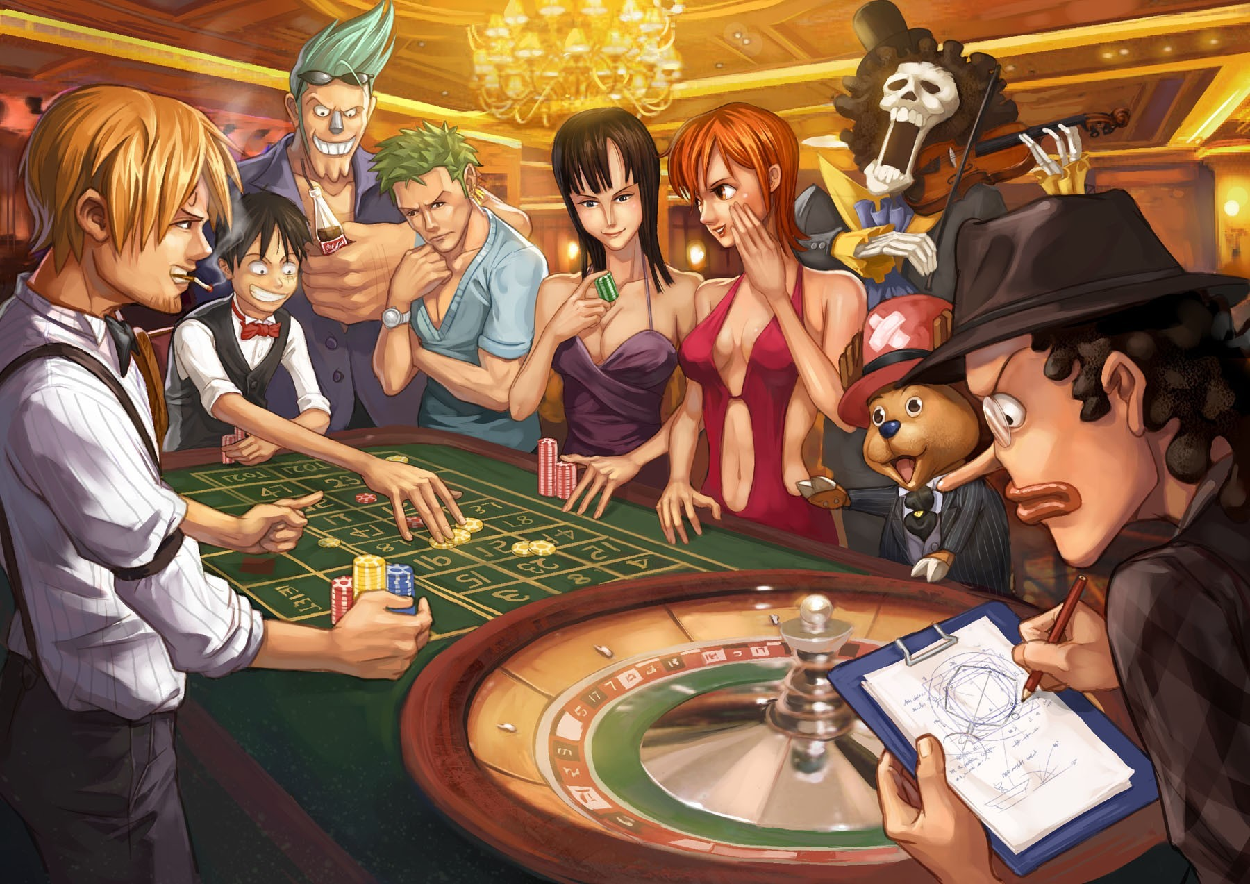 One Piece (anime) Roronoa HD Wallpaper