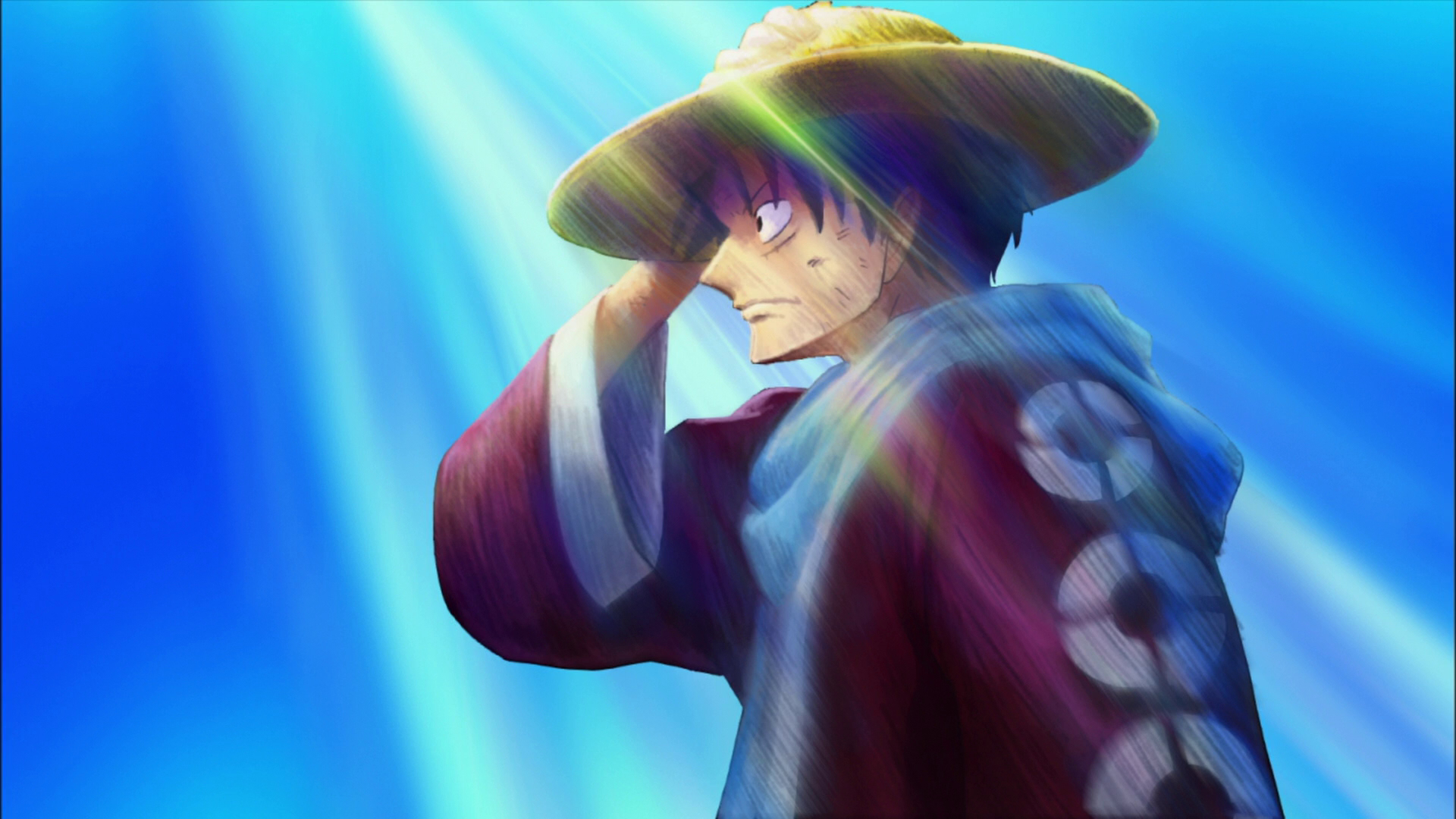 One Piece (anime) Straw HD Wallpaper