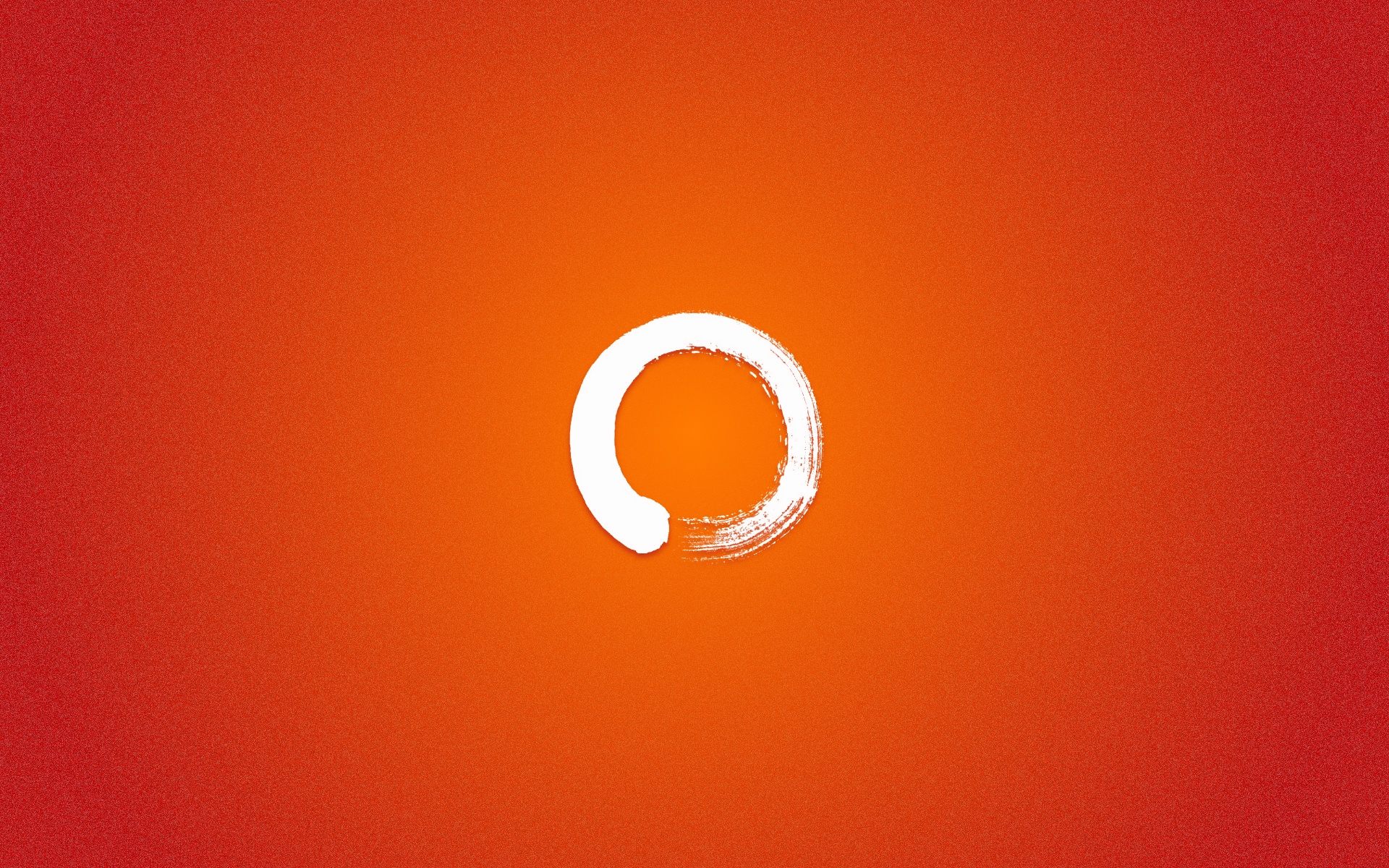 orange minimalistic abstract HD Wallpaper